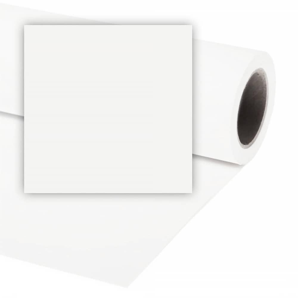 Colorama Bakgrundspapper 3.55 X 30M WHITE - VIT