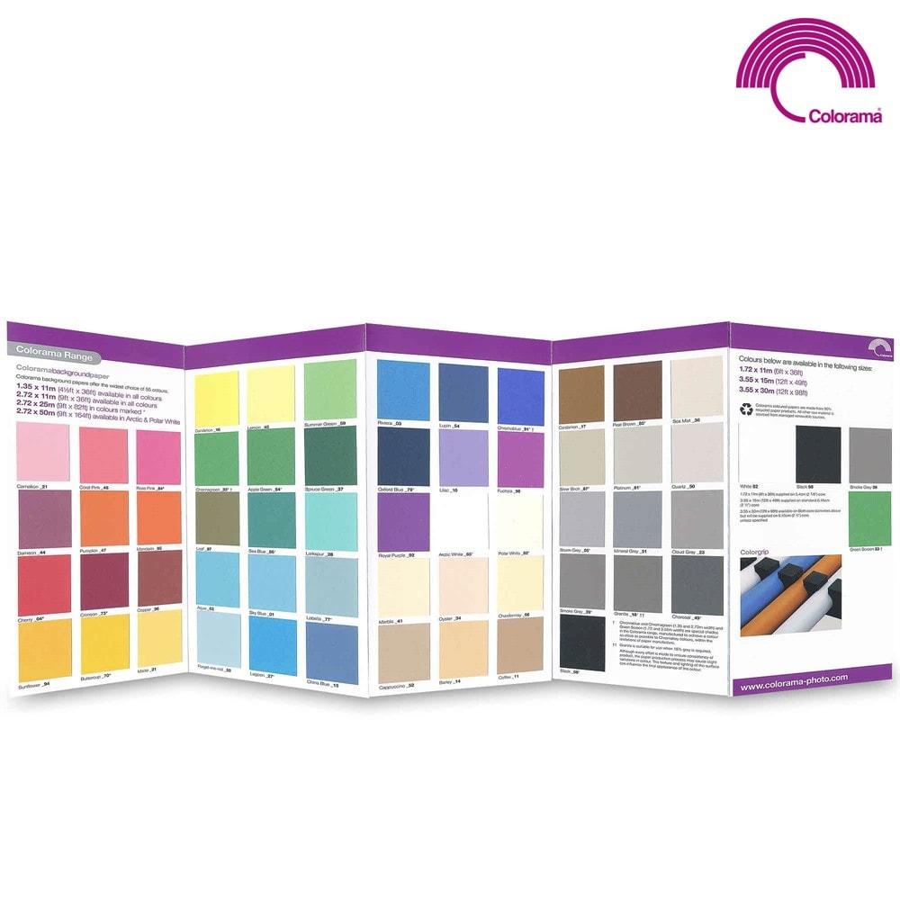 Colorama Bakgrundspapper 2,72 x 11m Svart