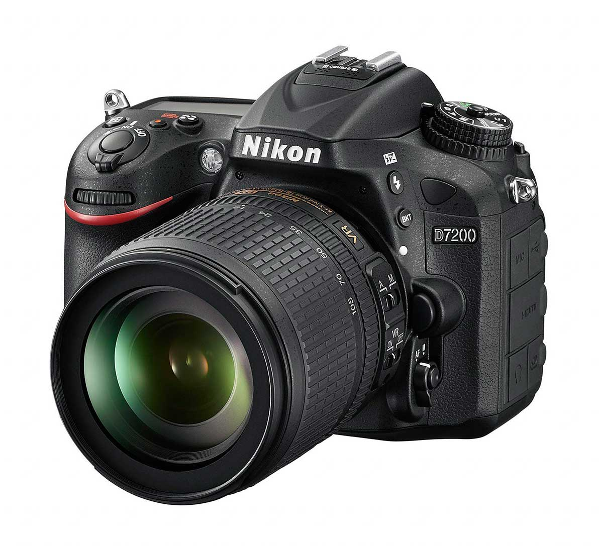 Nikon D7200 + 18-105 VR