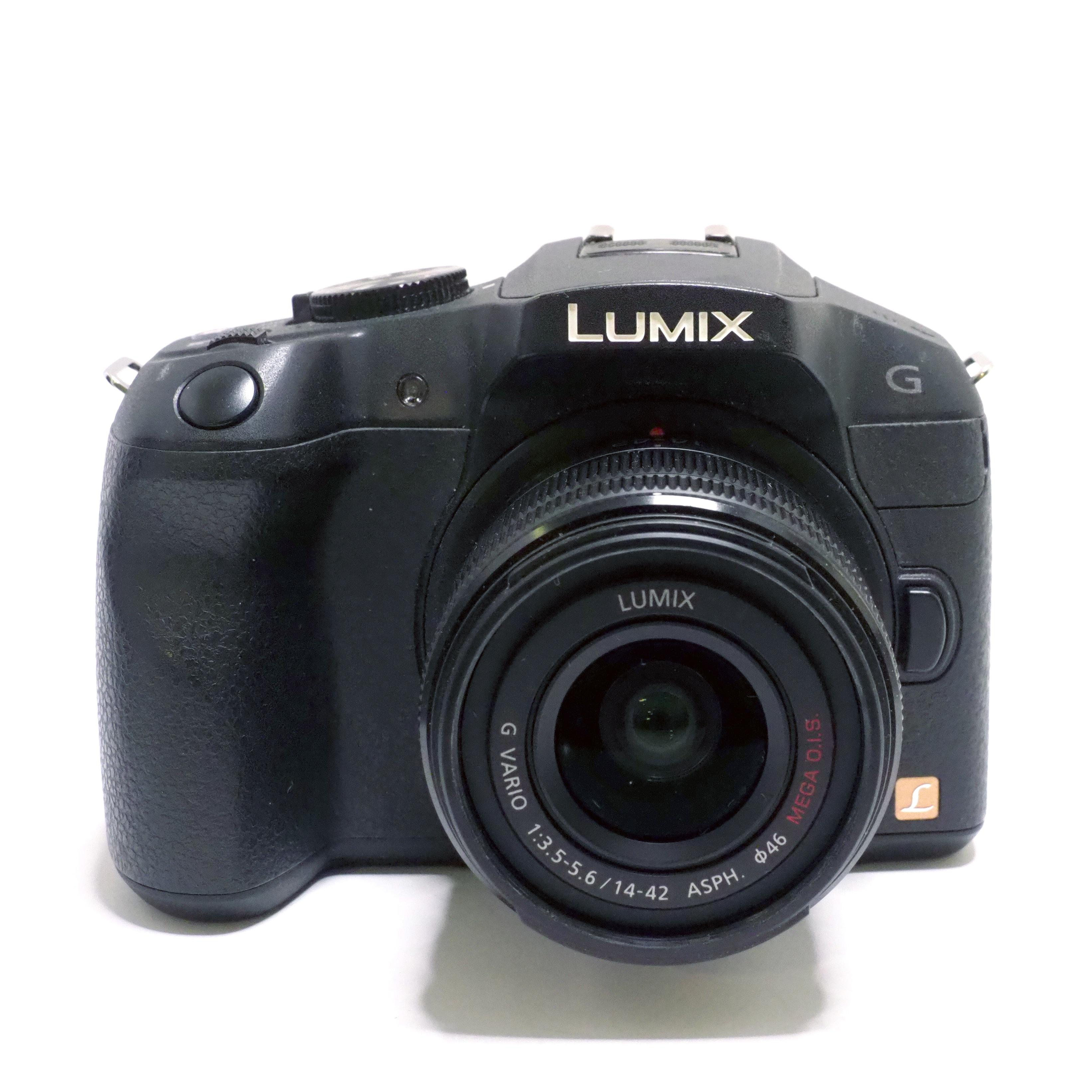 Panasonic Lumix DMC-G6 + 14-42mm f/3,5-5,6 OIS - BEGAGNAT