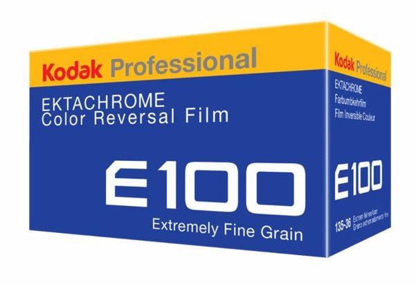 Kodak Ektachrome E100 36 bilder