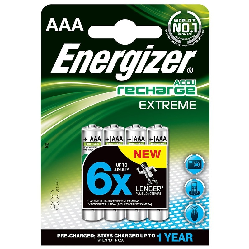 Energizer HR03 AAA Recharge