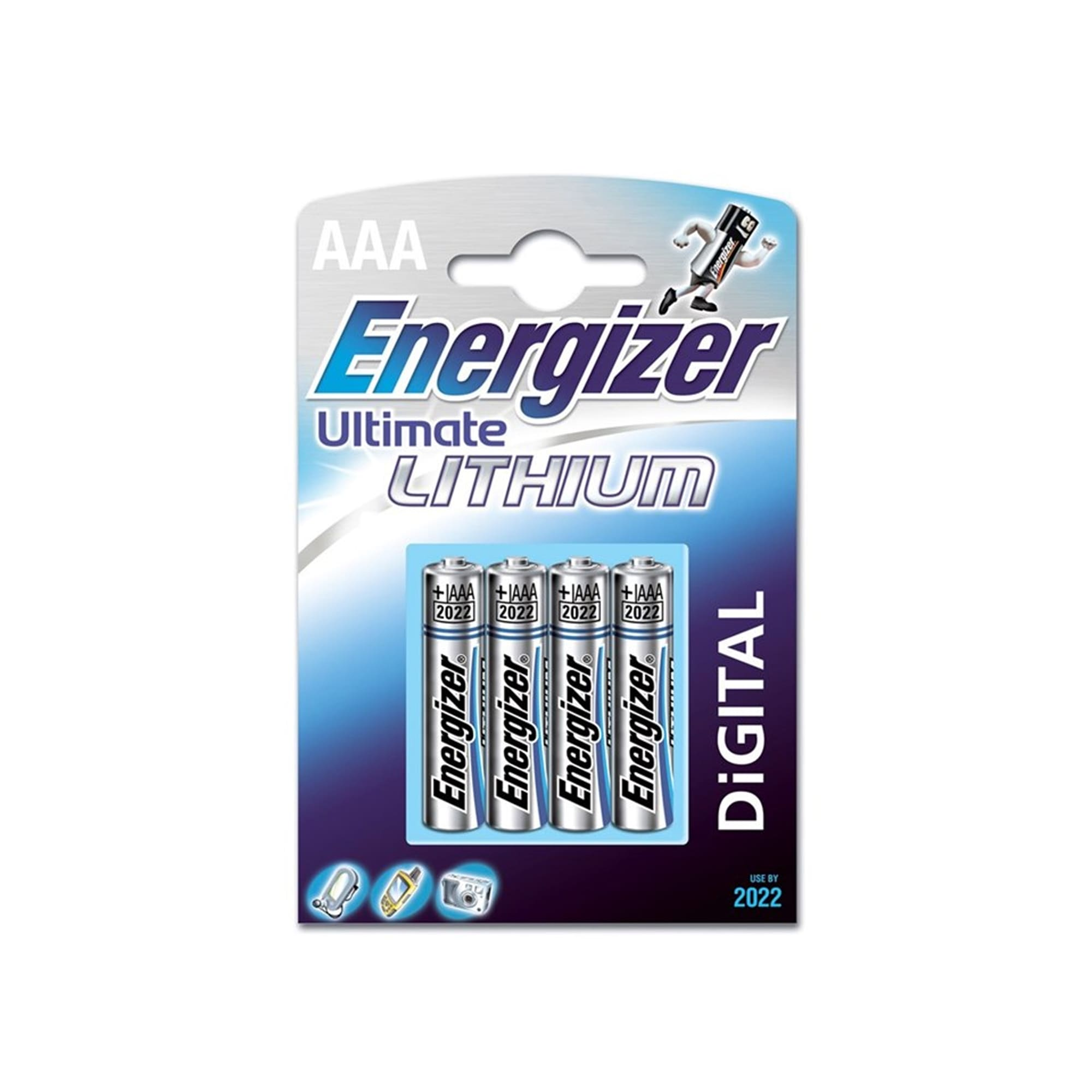 Energizer Ultimate Lithium AAA 4Pk