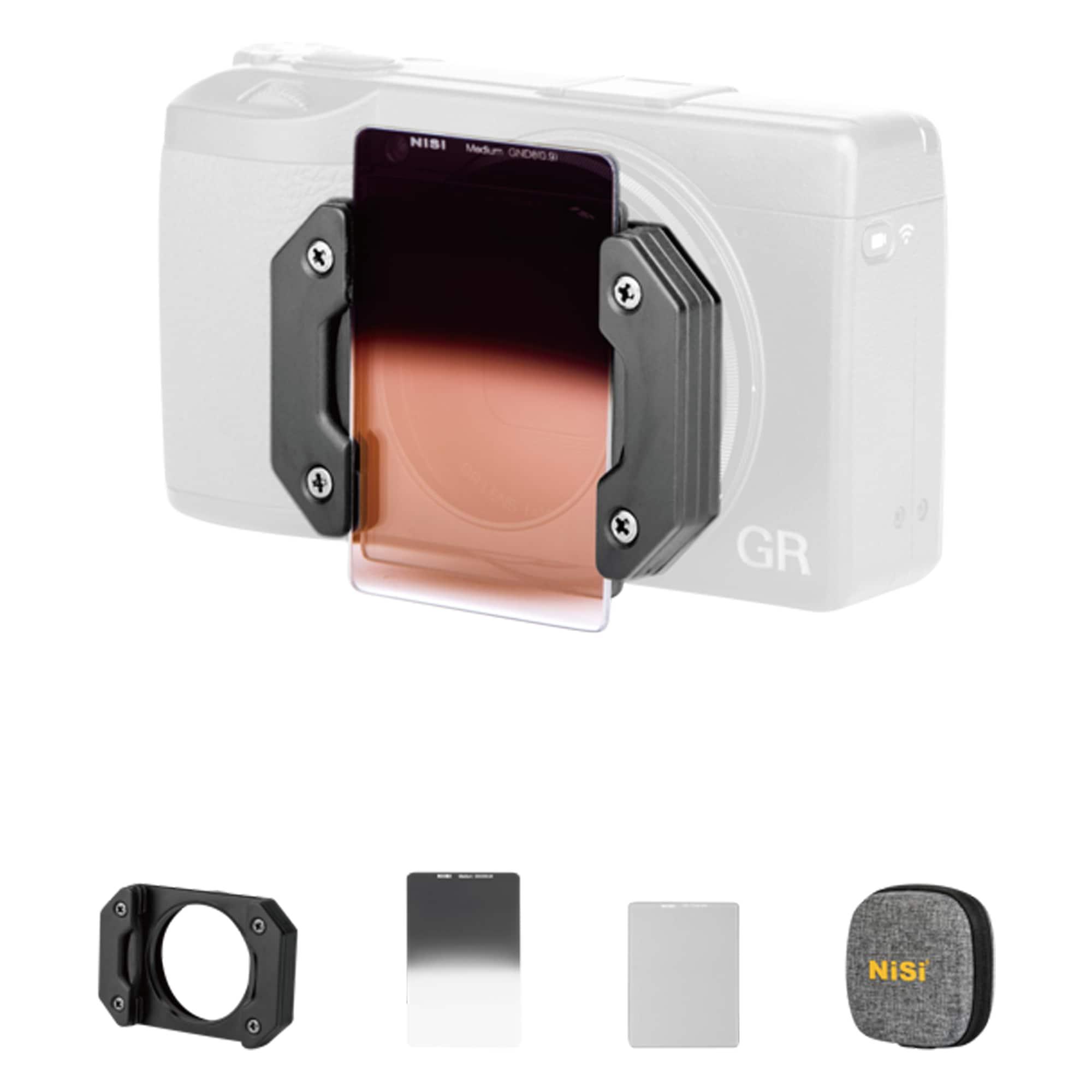 NiSi Filter Starter Kit för Ricoh GR III