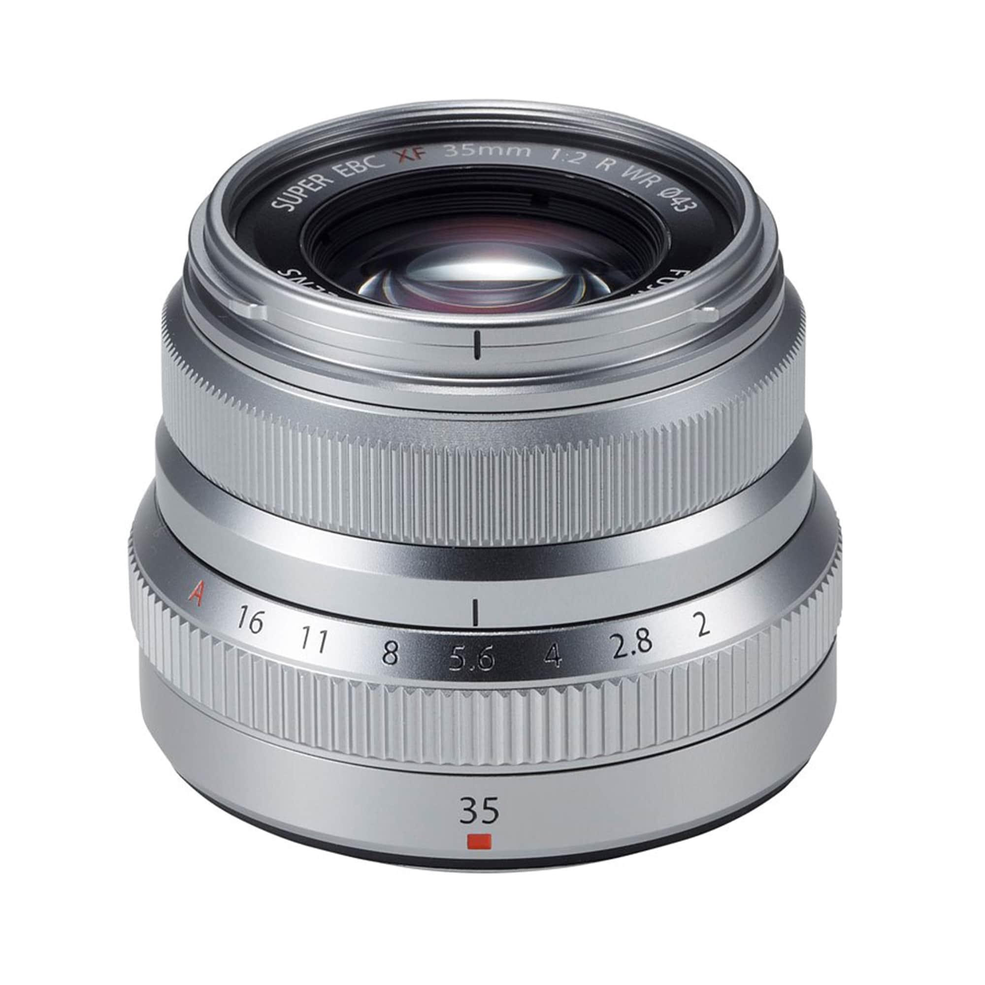Fujifilm Fujinon XF35 F/2 R WR Silver