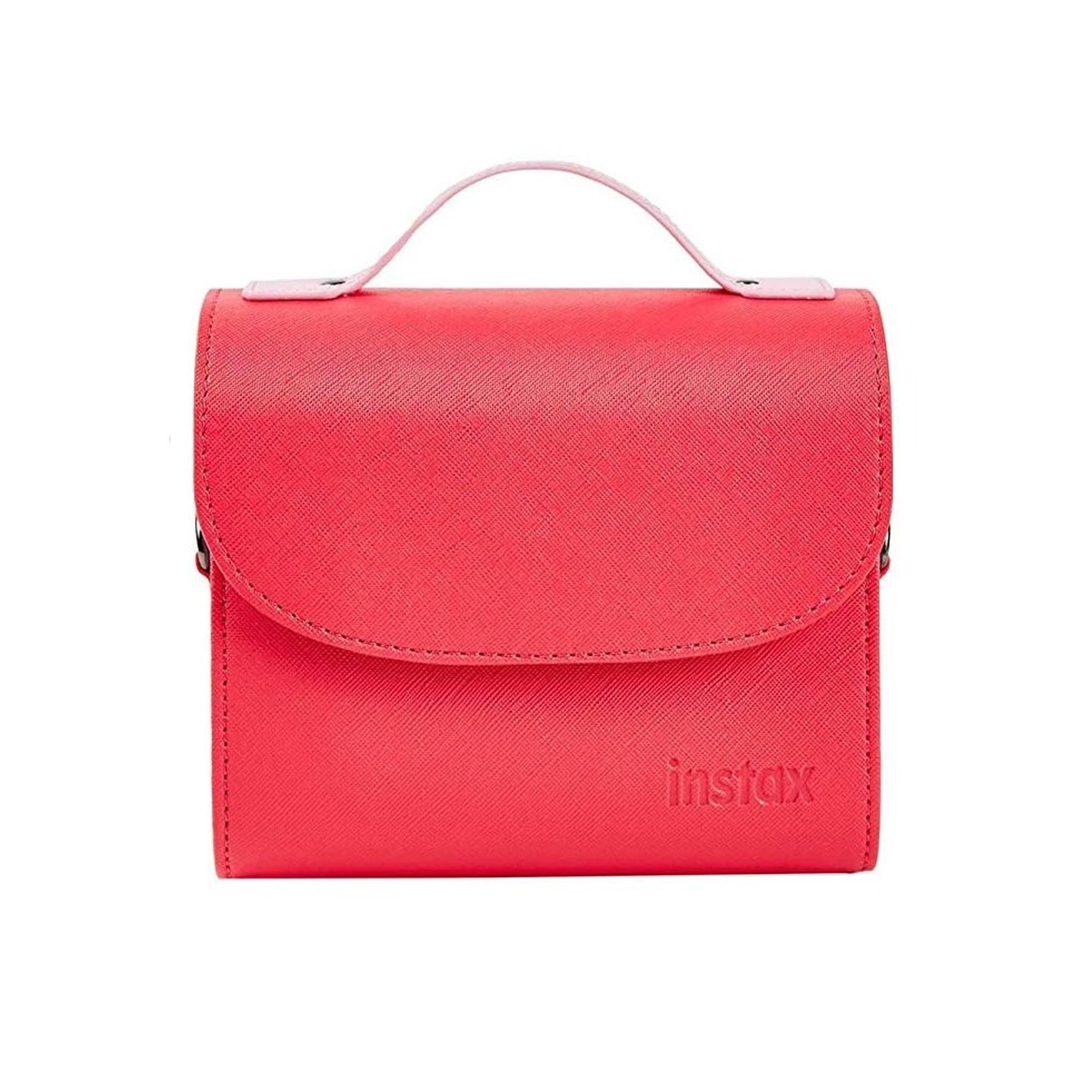 Fujifilm Instax Mini 9 Väska Flamingo Pink Med Handtag