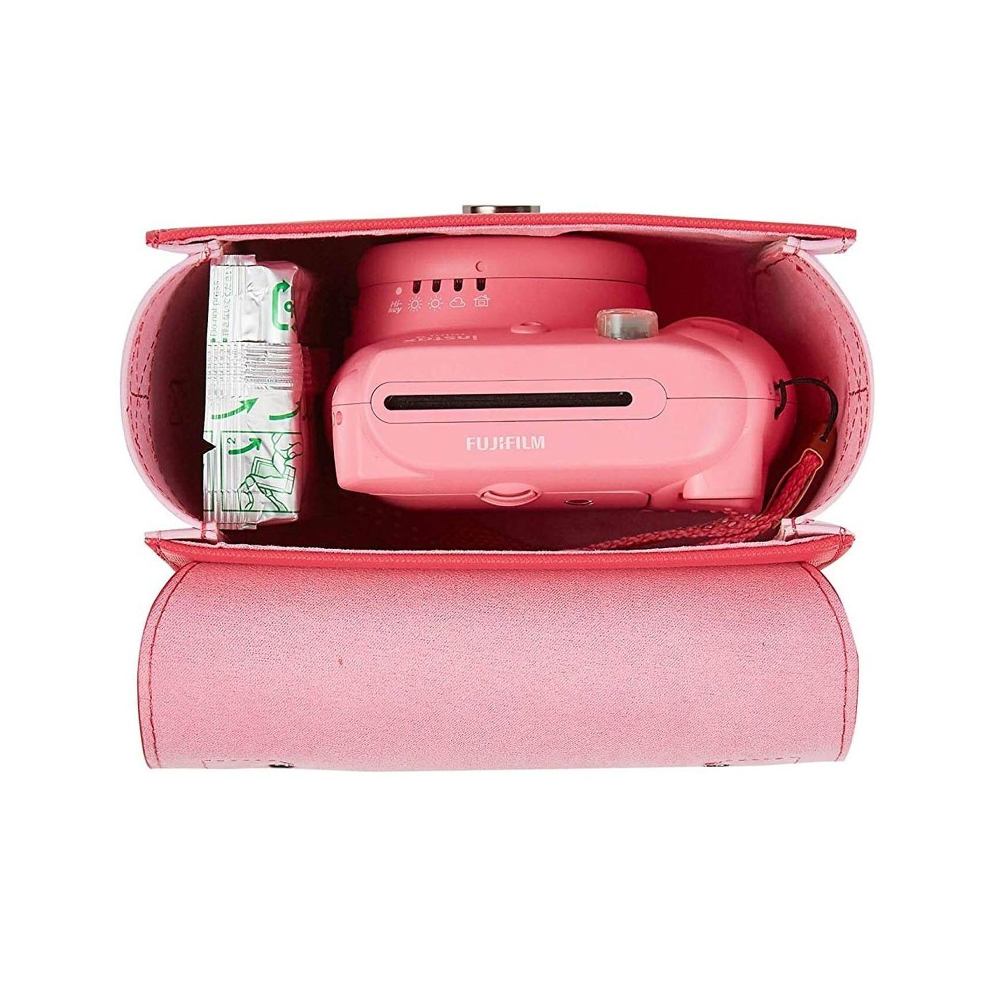 Fujifilm Instax Mini Väska Flamingo Pink Med Handtag