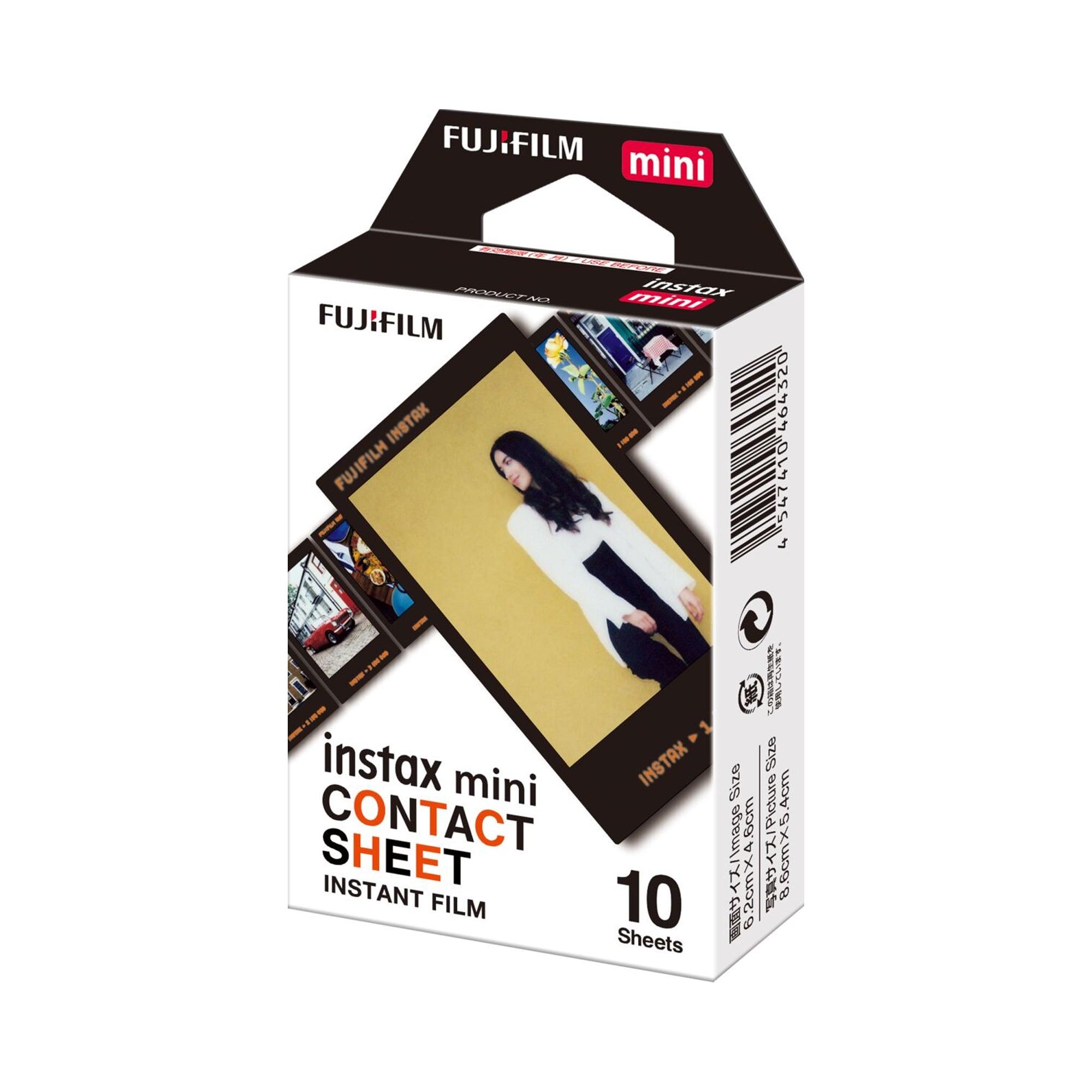 Instax Mini Contact Sheet 10 bilder