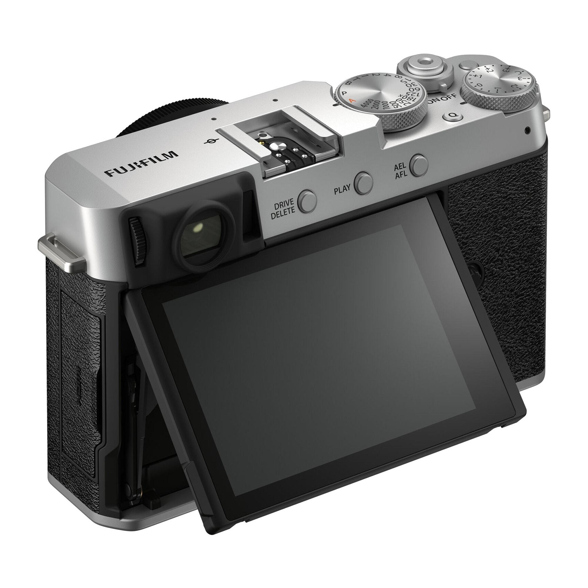 Fujifilm X-E4 kamerahus Silver