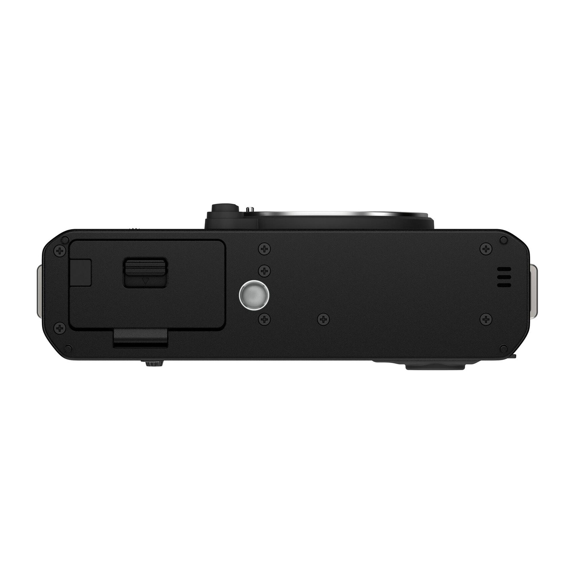 Fujifilm X-E4 + XF 27mm f/2,8 R WR Svart