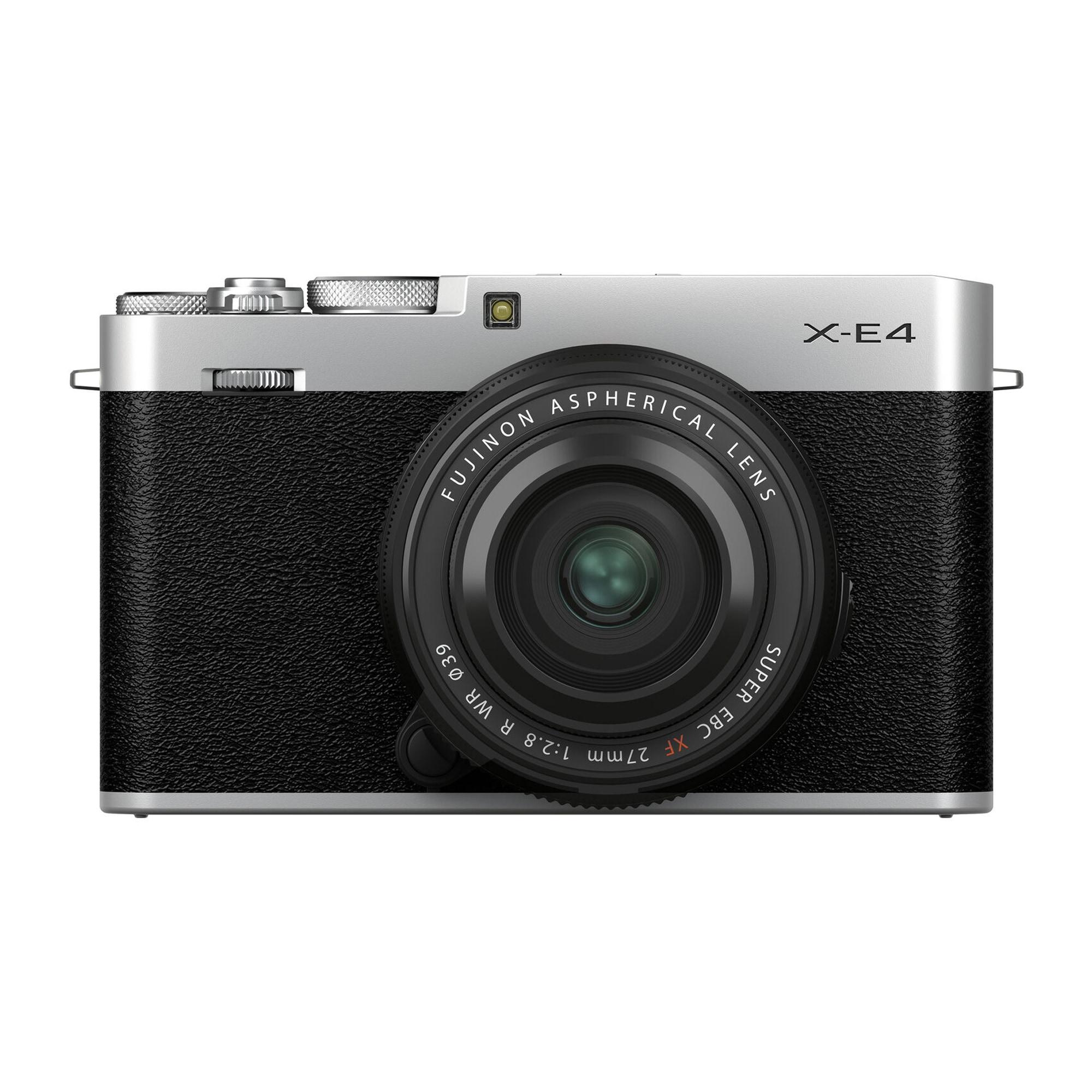 Fujifilm X-E4 + XF 27mm f/2,8 R WR Silver