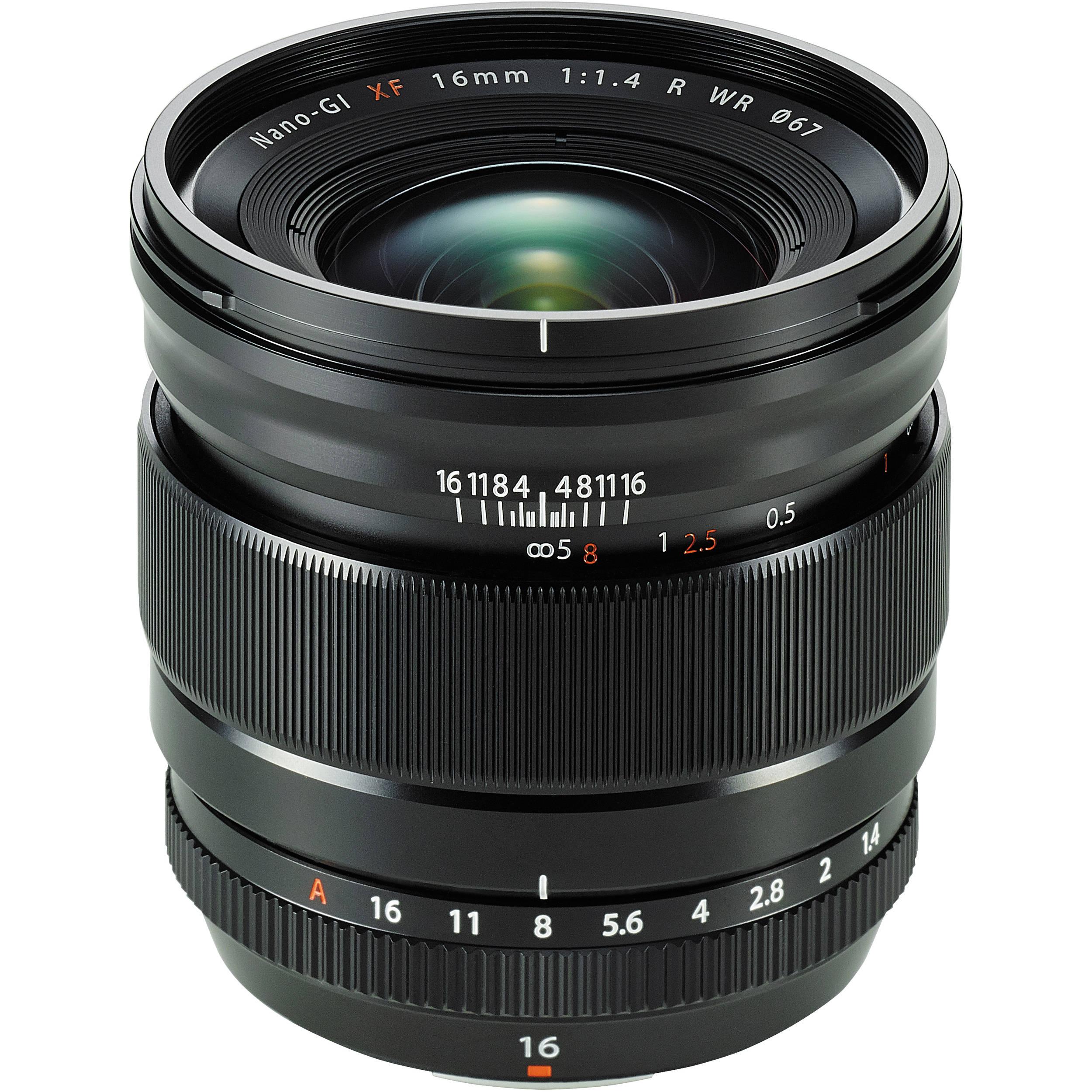 Fujifilm Fujinon XF 16mm f/1,4 R WR
