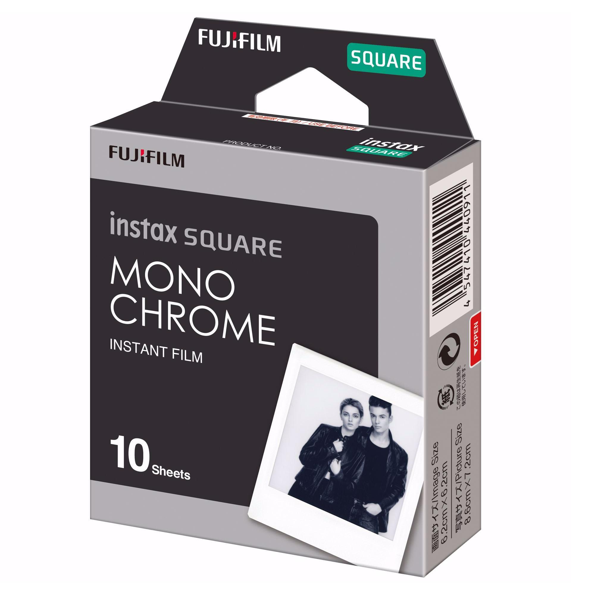 Fujifilm Instax Square Film Monochrome 10st