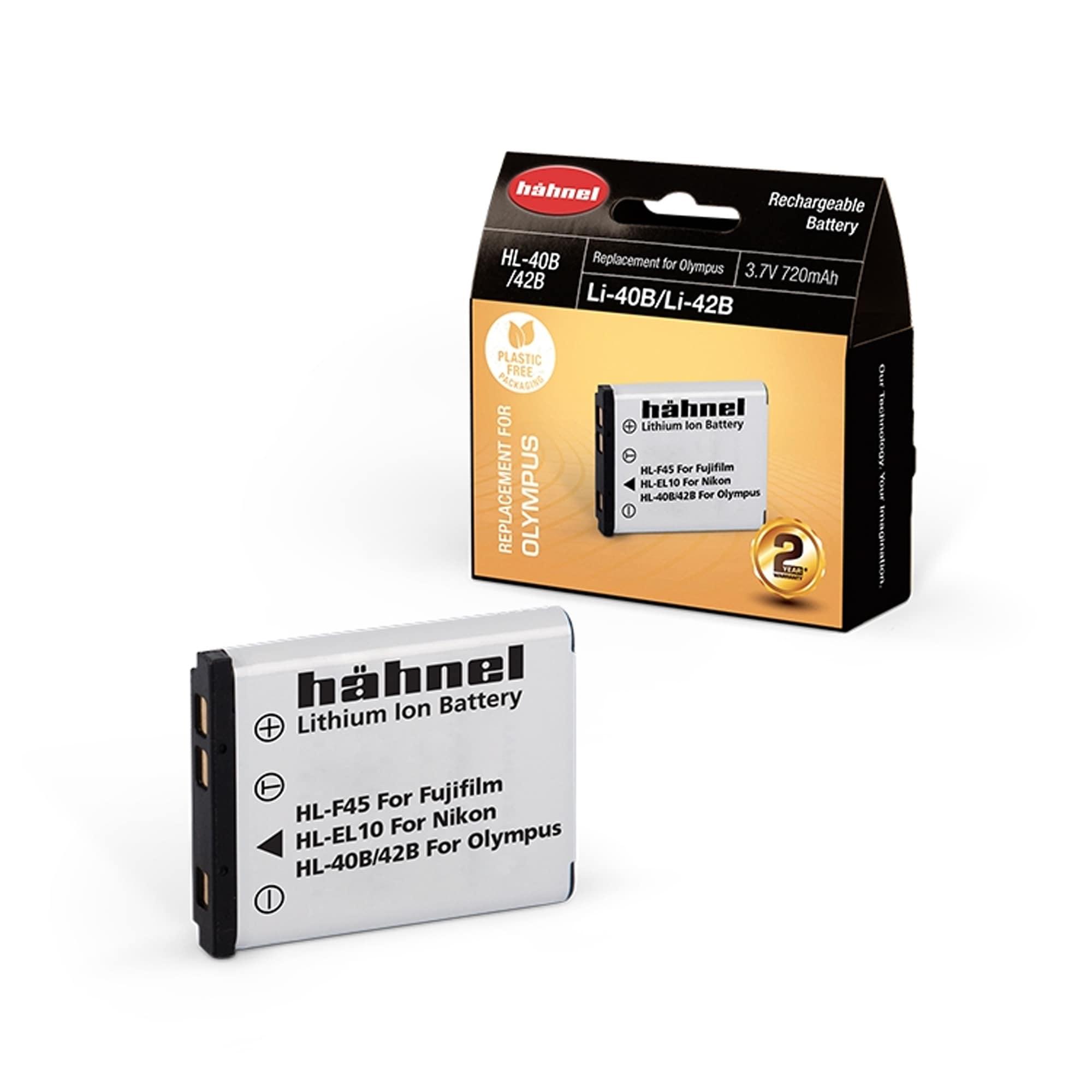Hähnel battery olympus HL-40b/42B