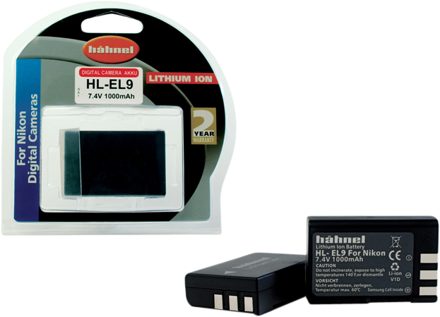 Hähnel DK Batteri Nikon HL-EL9A
