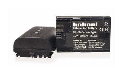 Hähnel Batteri Canon HL-E6