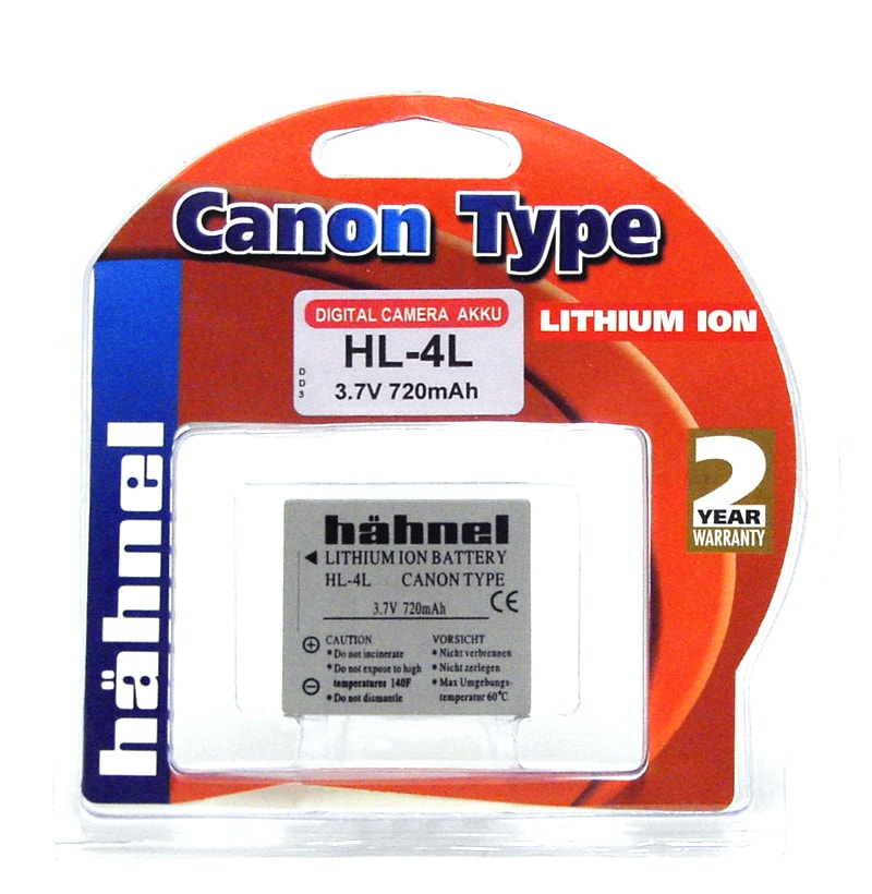 Hähnel Dk Batteri Canon Hl 4L