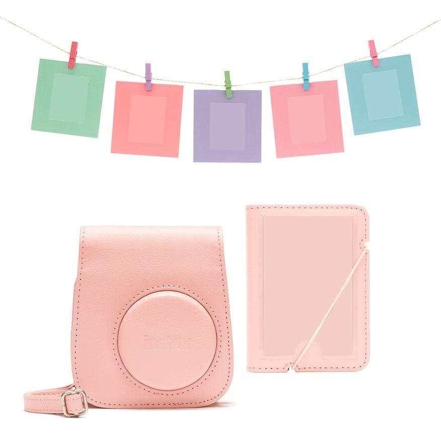Fujifilm Instax Mini 11 Tillbehörskit Blush-Pink
