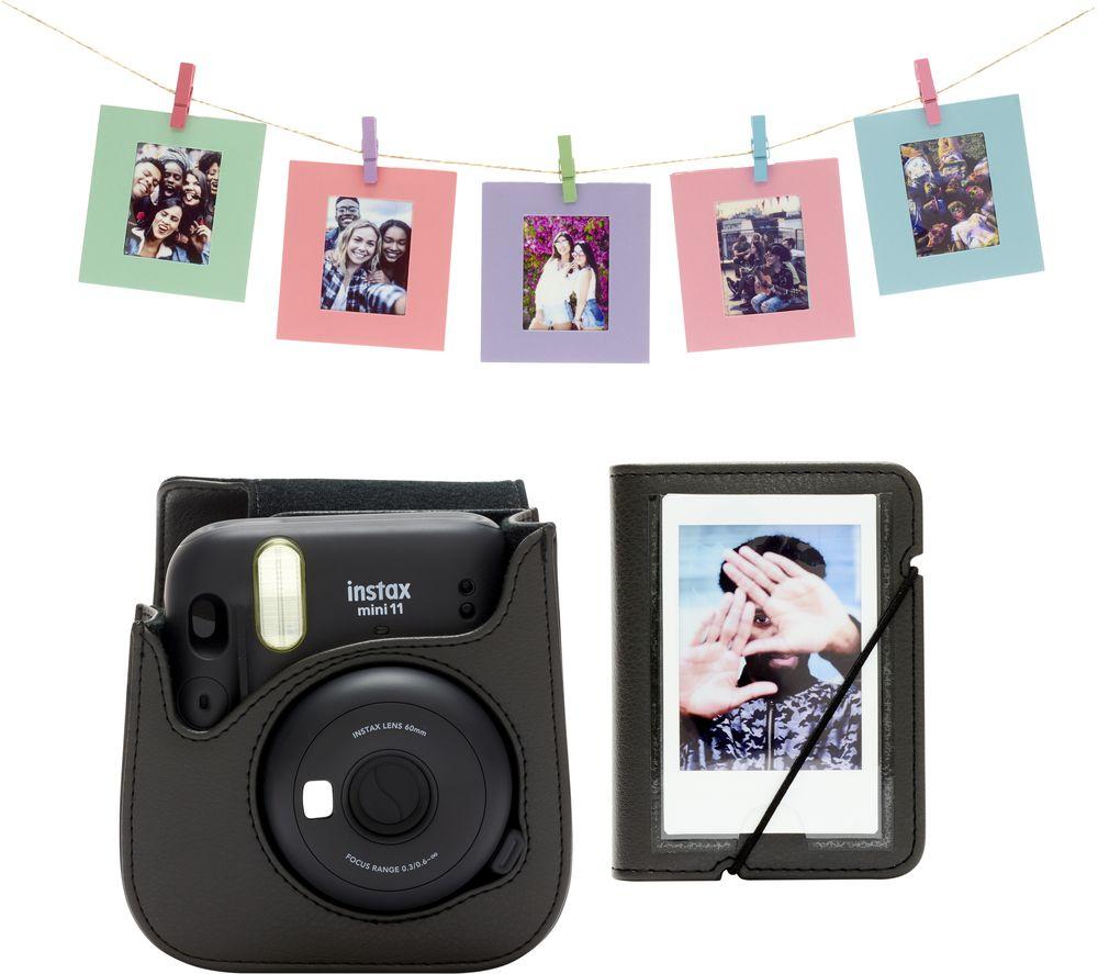 Fujifilm Instax Mini 11 Tillbehörskit Charcoal-Grey