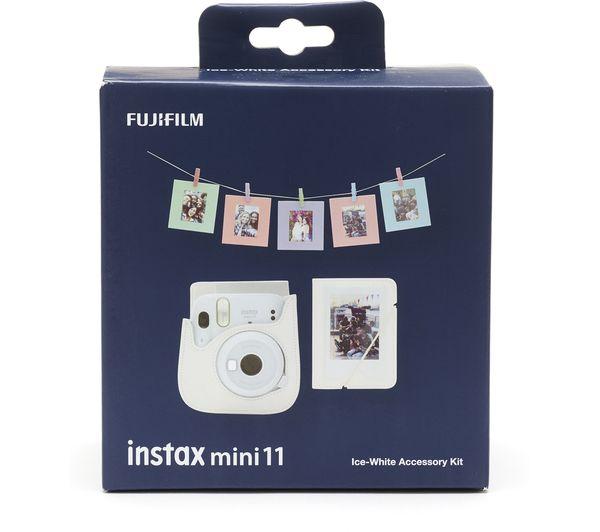 Fujifilm Instax Mini 11 Tillbehörskit Ice-White