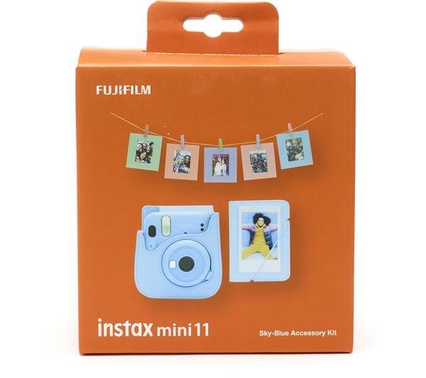 Fujifilm Instax Mini 11 Tillbehörskit Sky-Blue