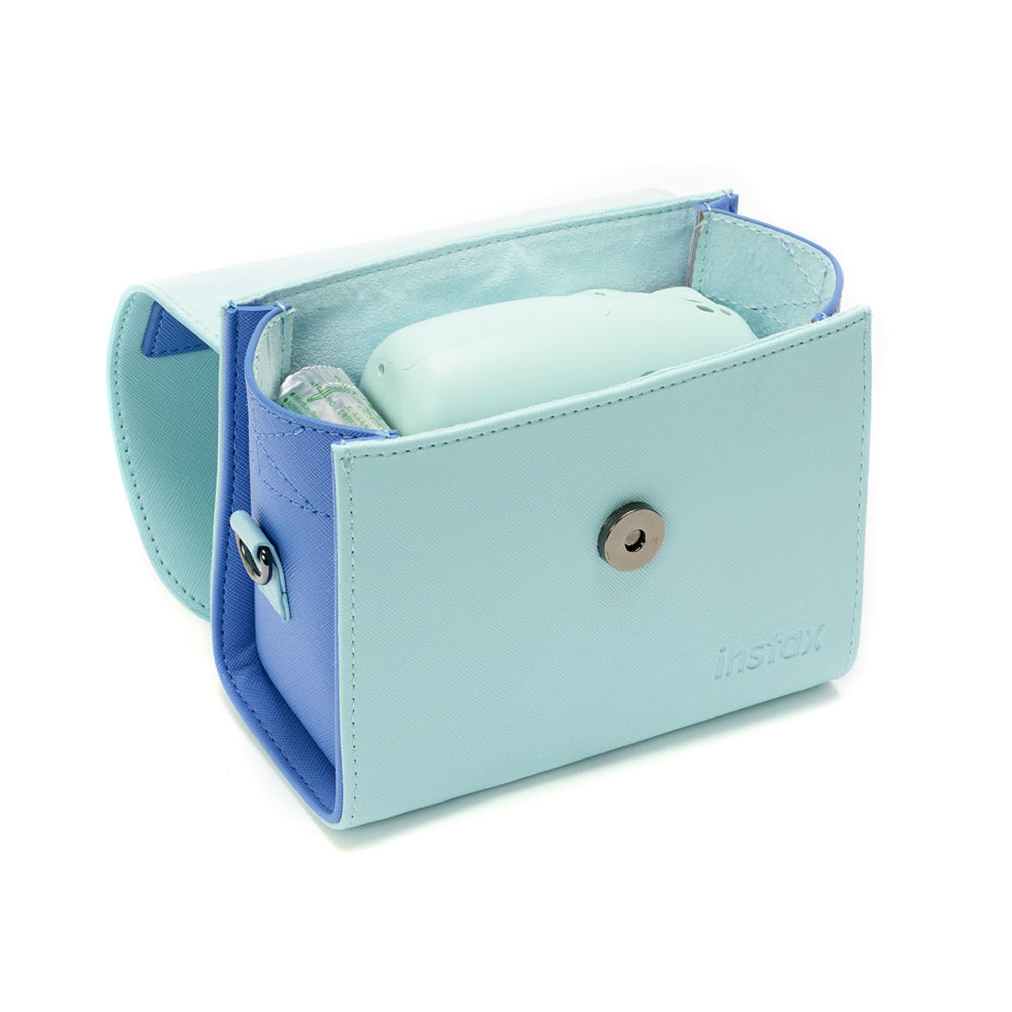 Fujifilm Instax Mini Väska Ice Blue Med Handtag