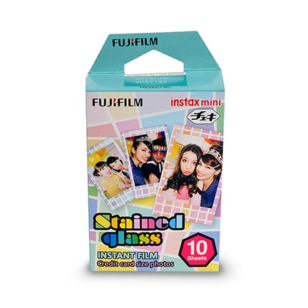 Fujifilm INSTAX MINI 10st Stained glass