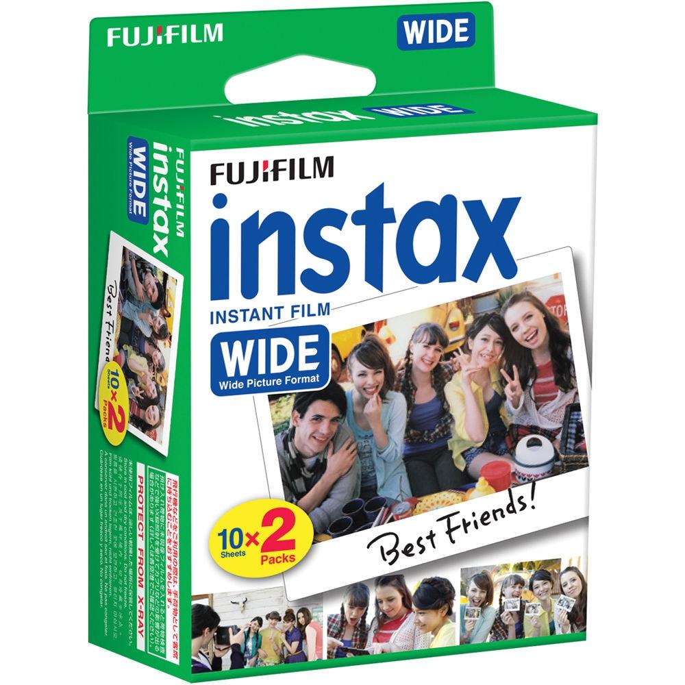 Fujifilm Instax Wide 2x10 bilder
