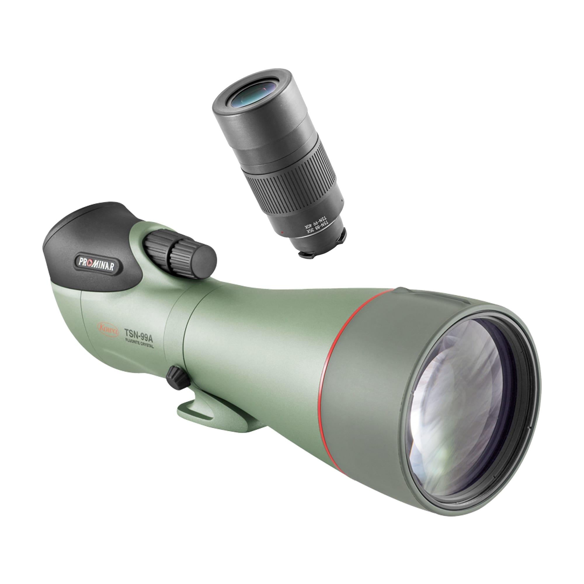 Kowa Spottingscope TSN-99A PROMINAR + 40x Extreme Wide