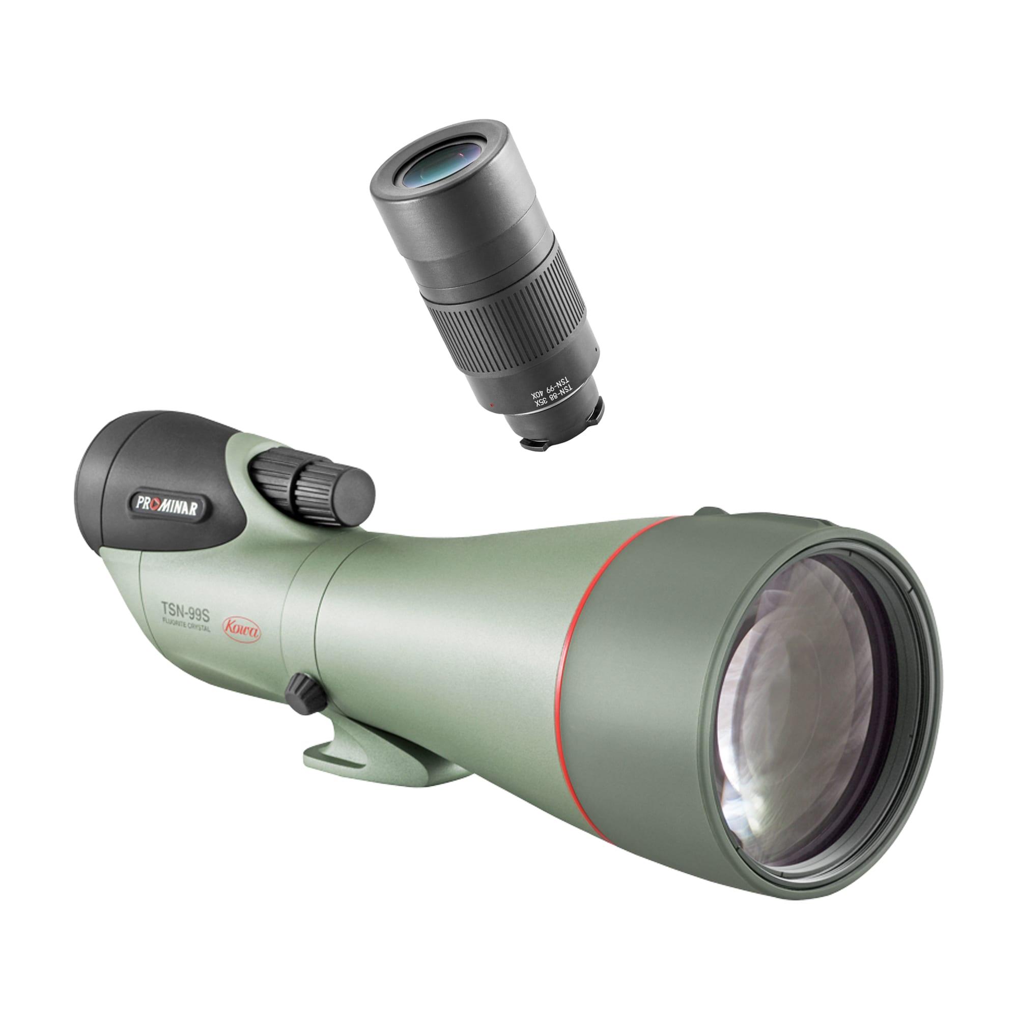 Kowa Spottingscope TSN-99S PROMINAR + 40x Extreme Wide