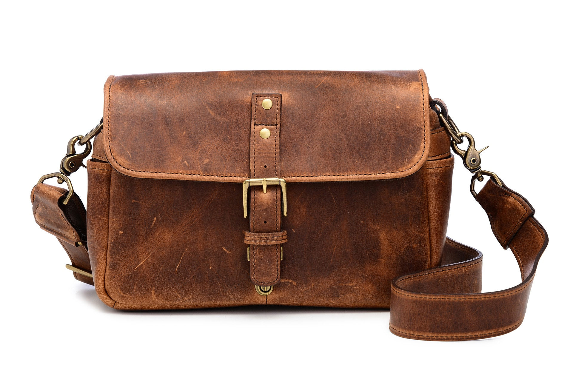 ONA Bags Bowery Cognac