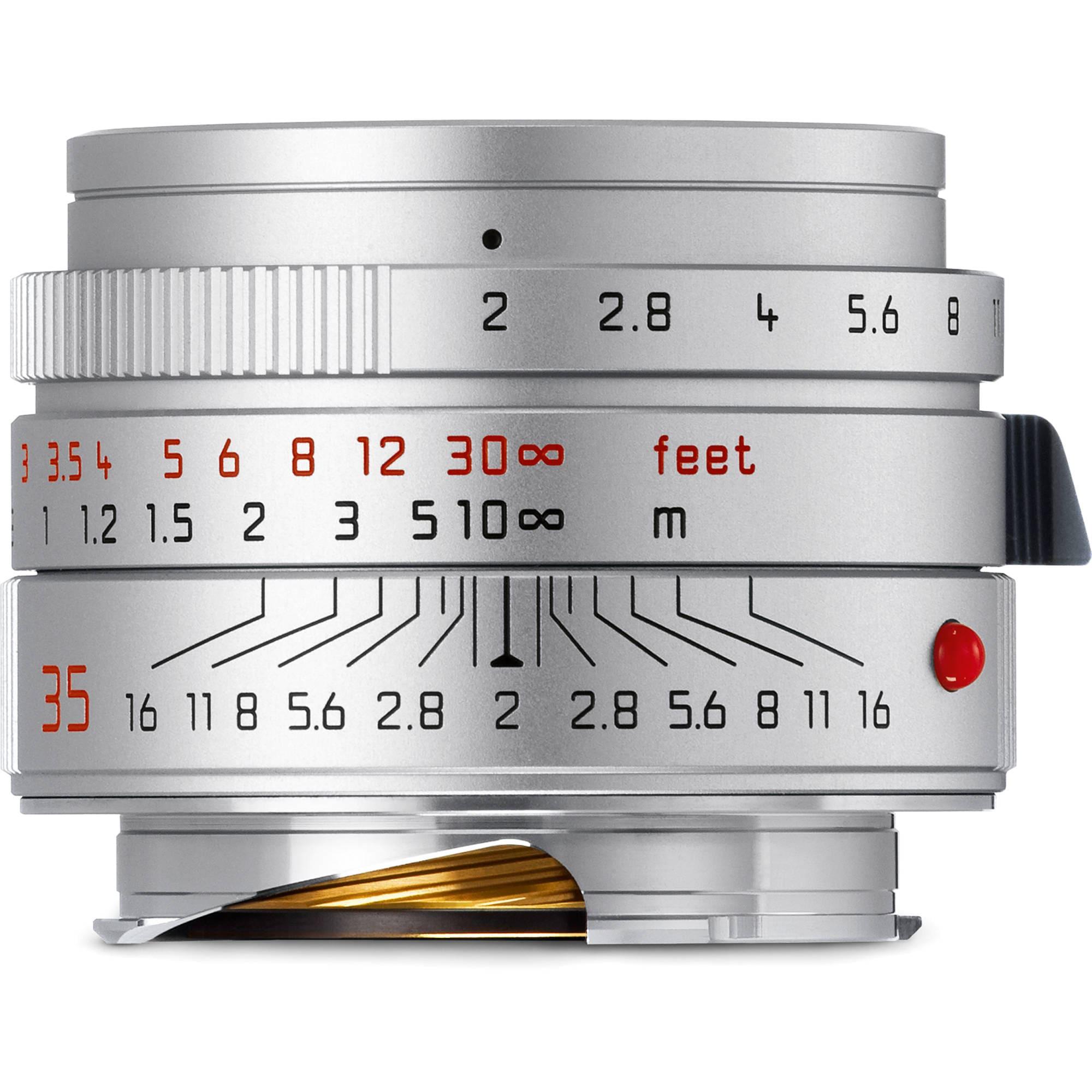 Leica Summicron 35mm f/2,0 ASPH silver