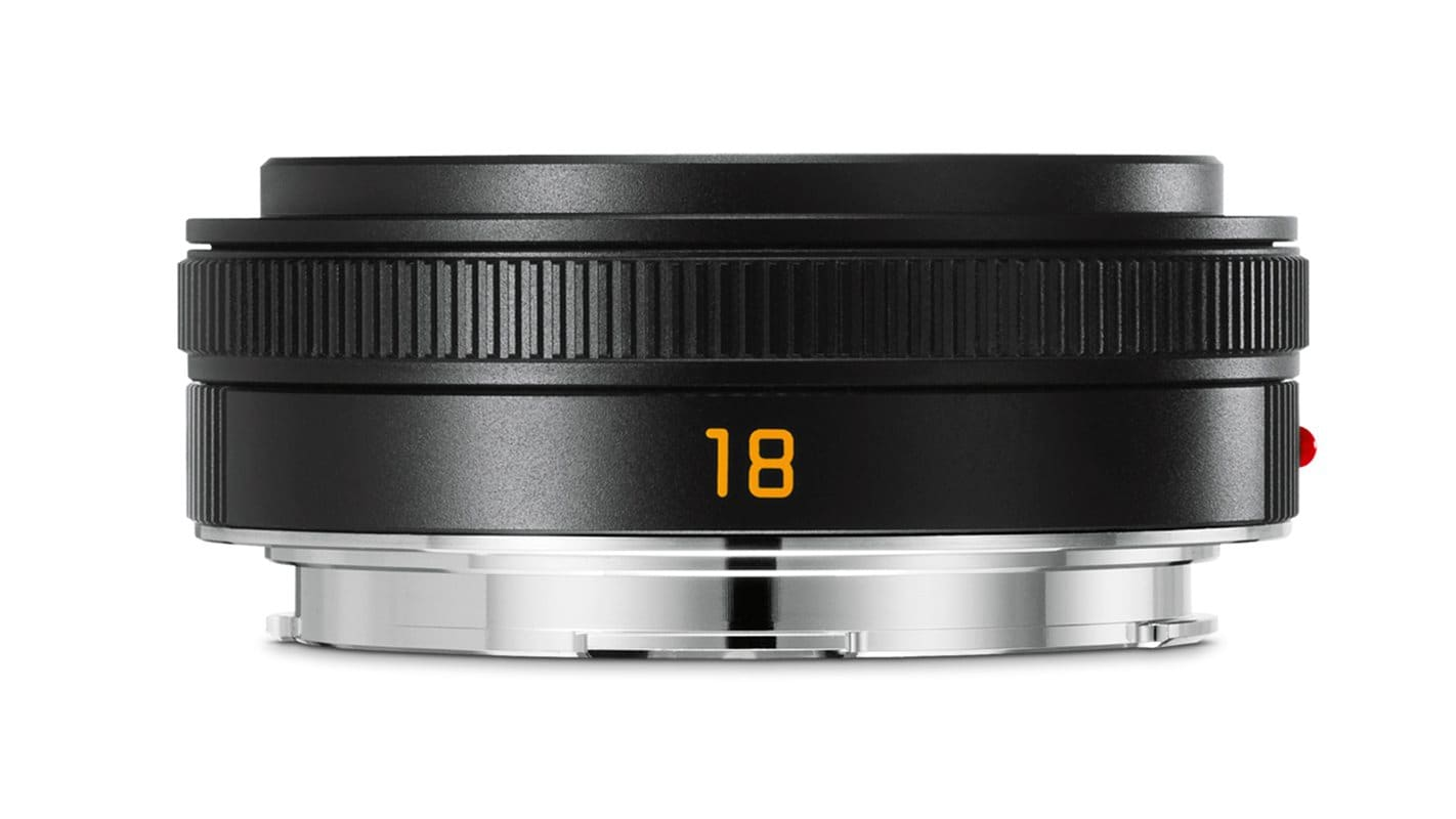 Leica TL 18mm f/2,8 ASPH Svart