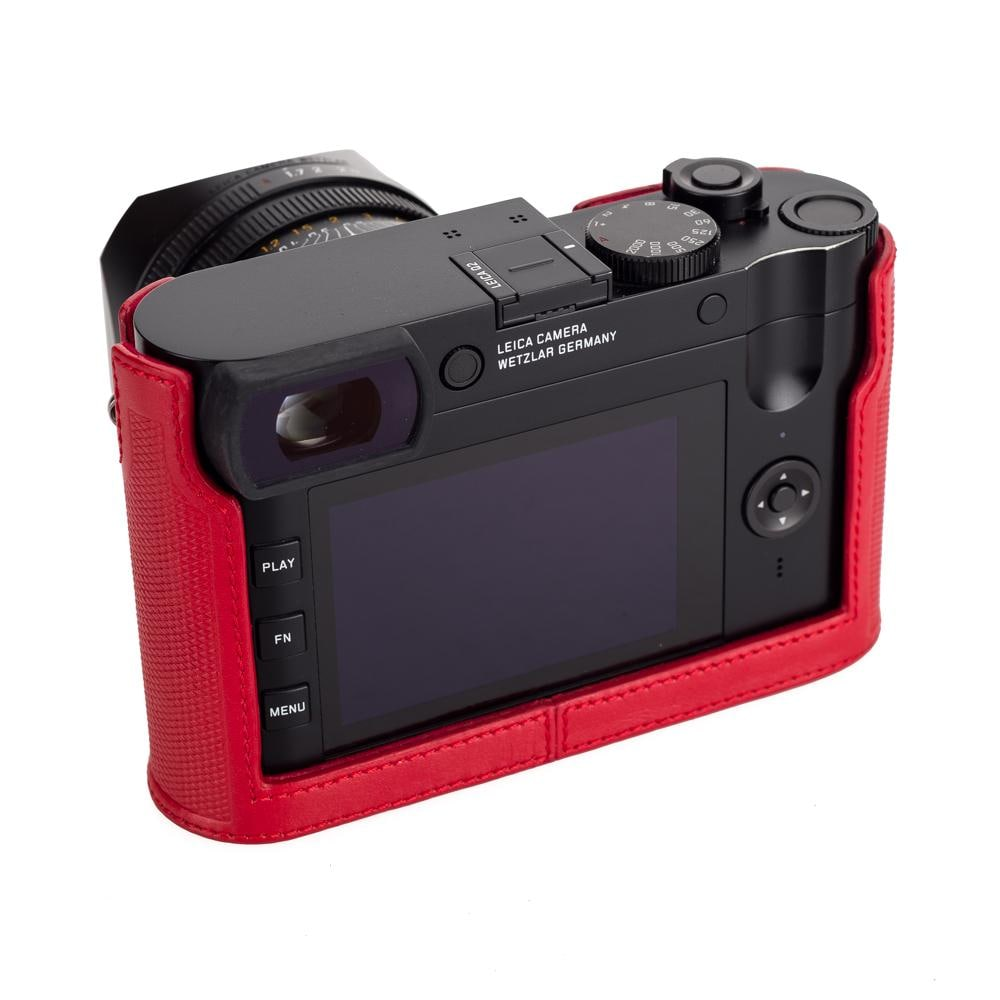 Leica Protector Q2 Red Leather