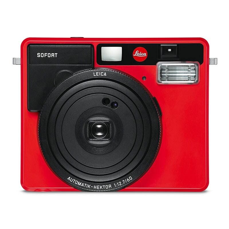 Leica Sofort Röd