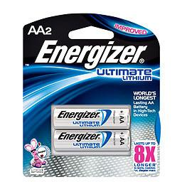 Energizer AA Ultimate Lithium 4+2-P