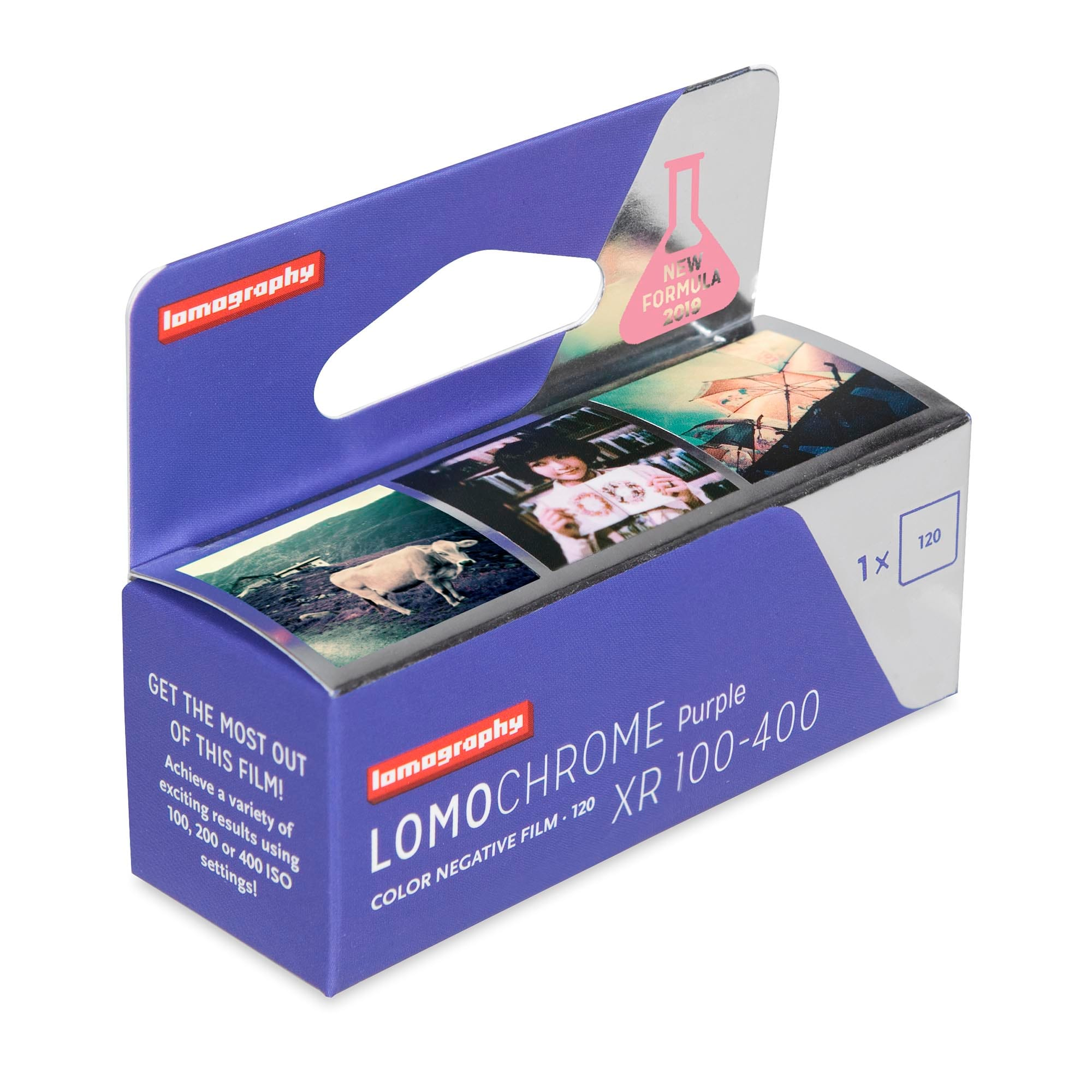 Lomography Purple new formula 120mm film