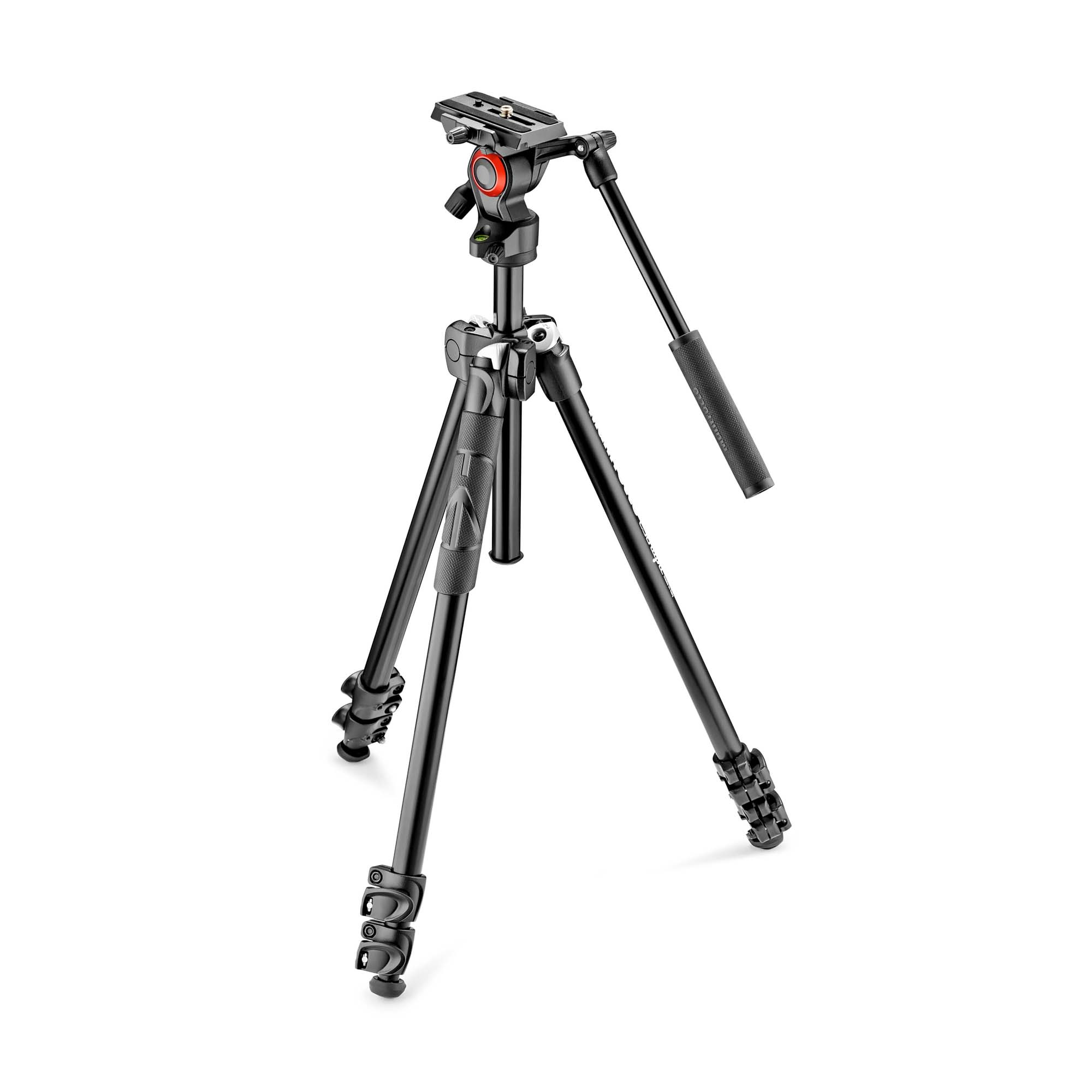 Manfrotto Stativkit Video 290 Light + 400AH Aluminium