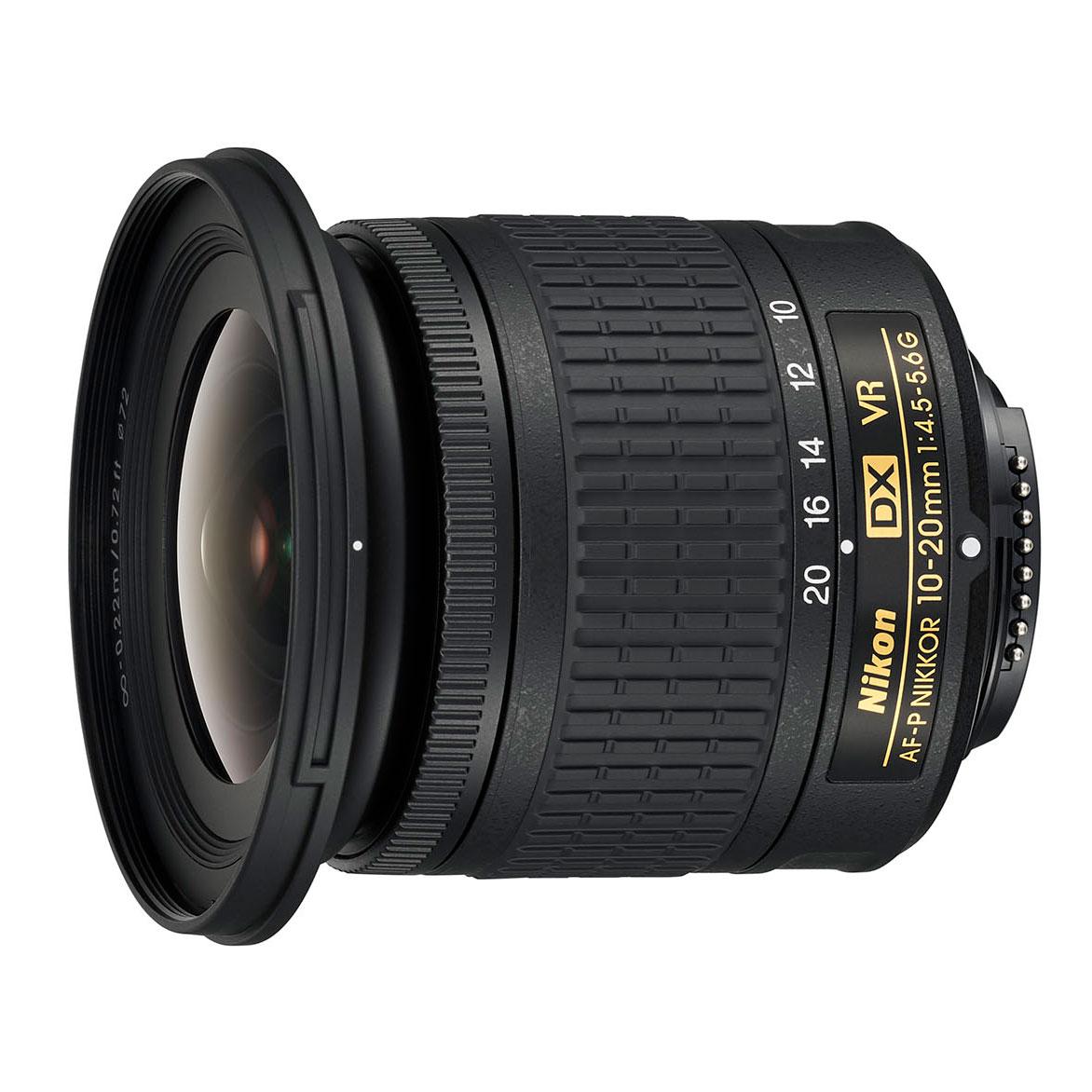 Nikon AF-P DX NIKKOR 10-20 mm f/4,5-5,6G VR