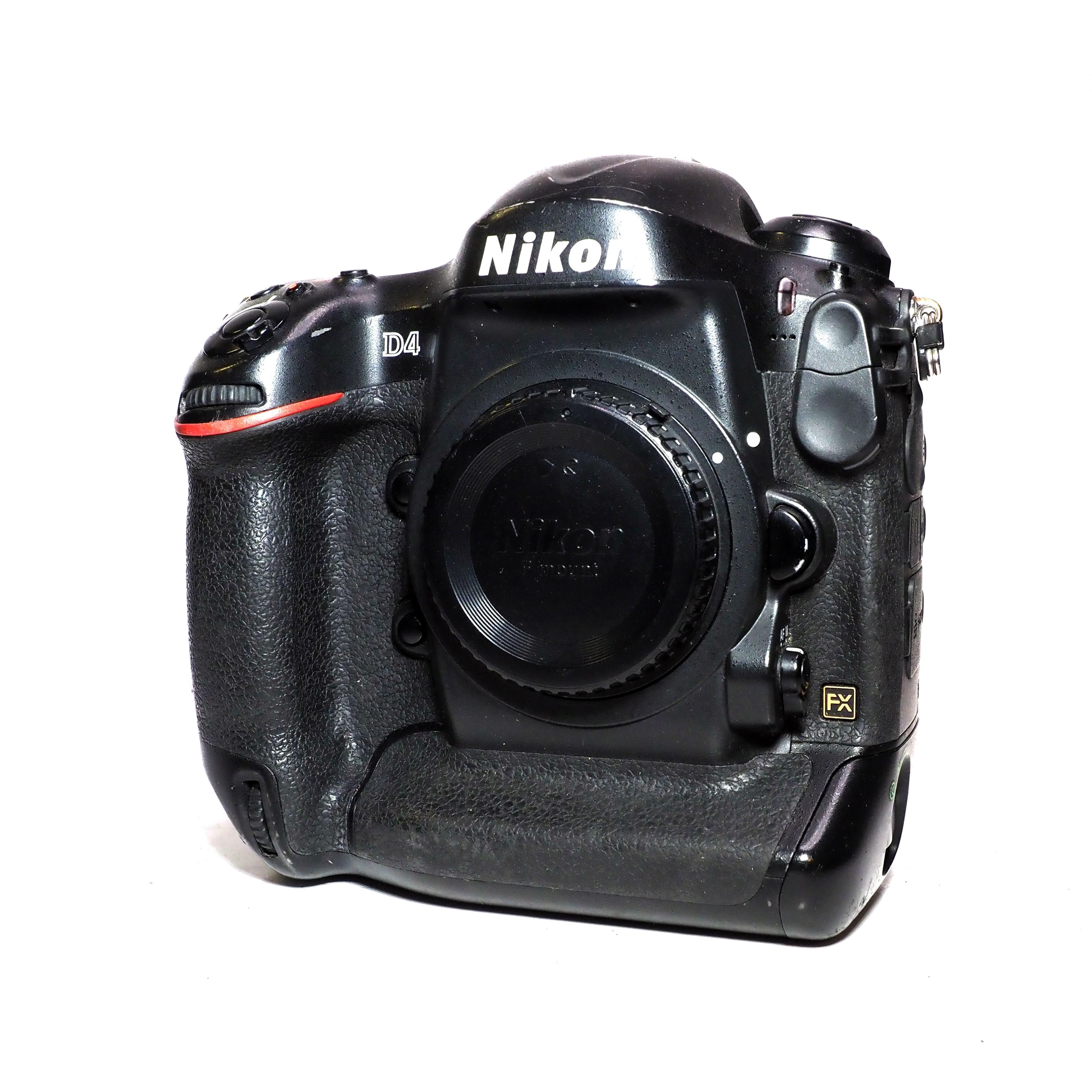 Nikon D4 Kamerahus - BEGAGNAT