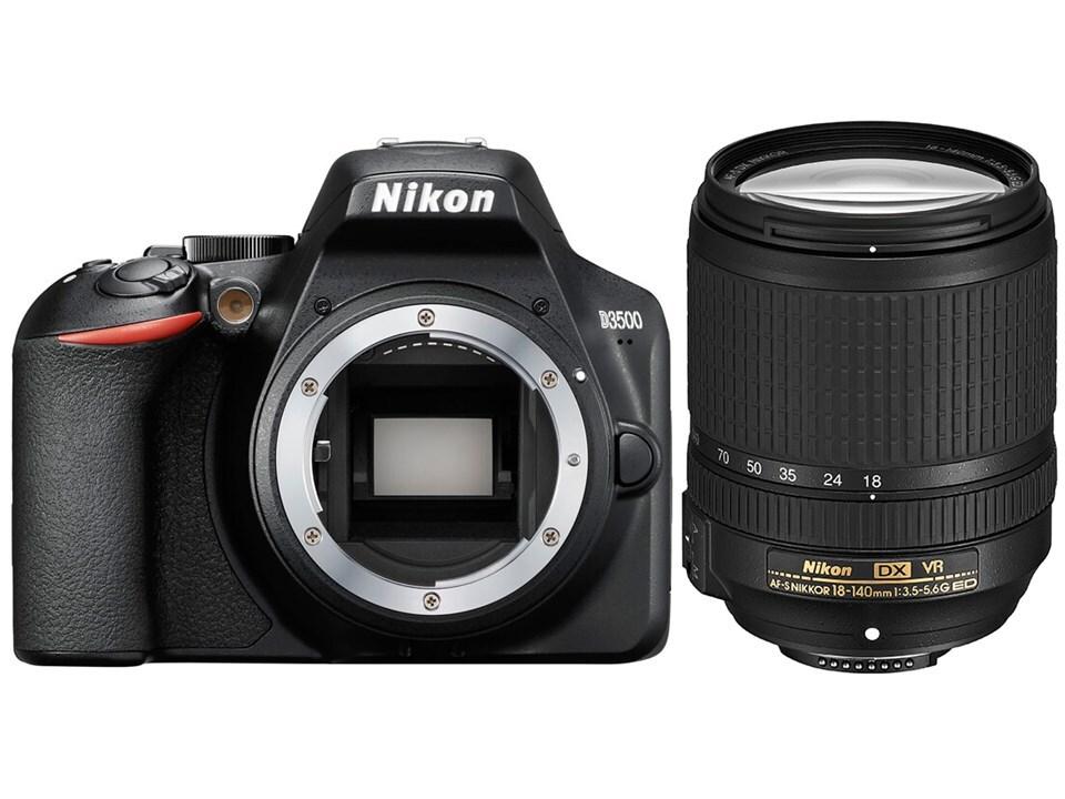 Nikon D3500 +18-140mm VR