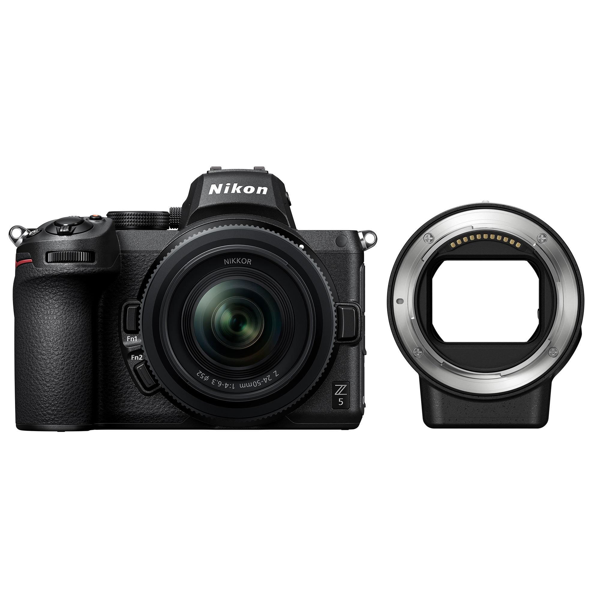 Nikon Z5 + NIKKOR Z 24-50mm f/4-6.3 + Mount Adapter FTZ