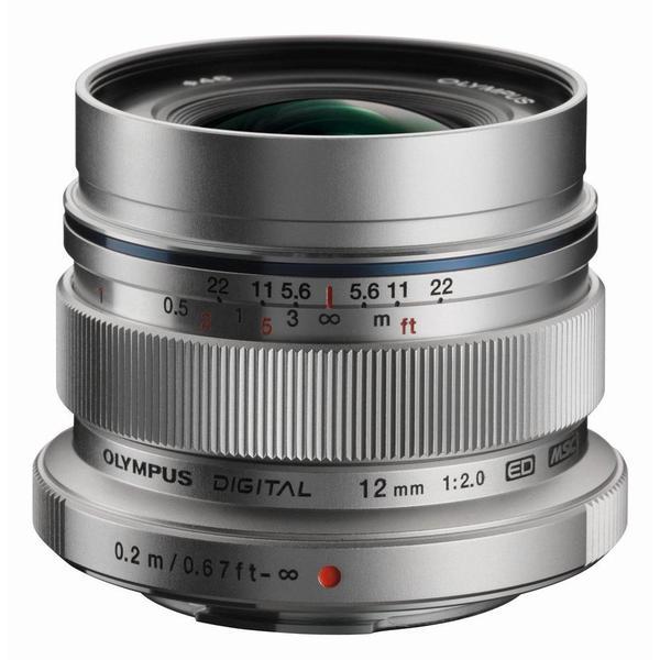 Olympus M.ZUIKO DIGITAL ED 12mm f/2,0 Silver