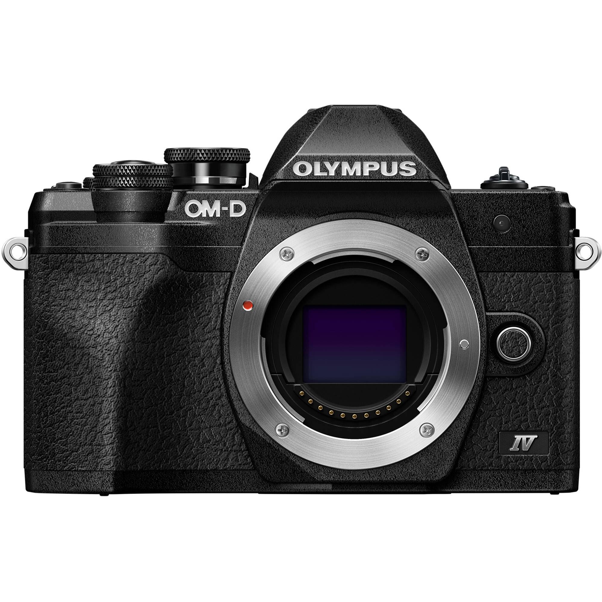 Olympus E-M10 Mark IV kamerahus svart