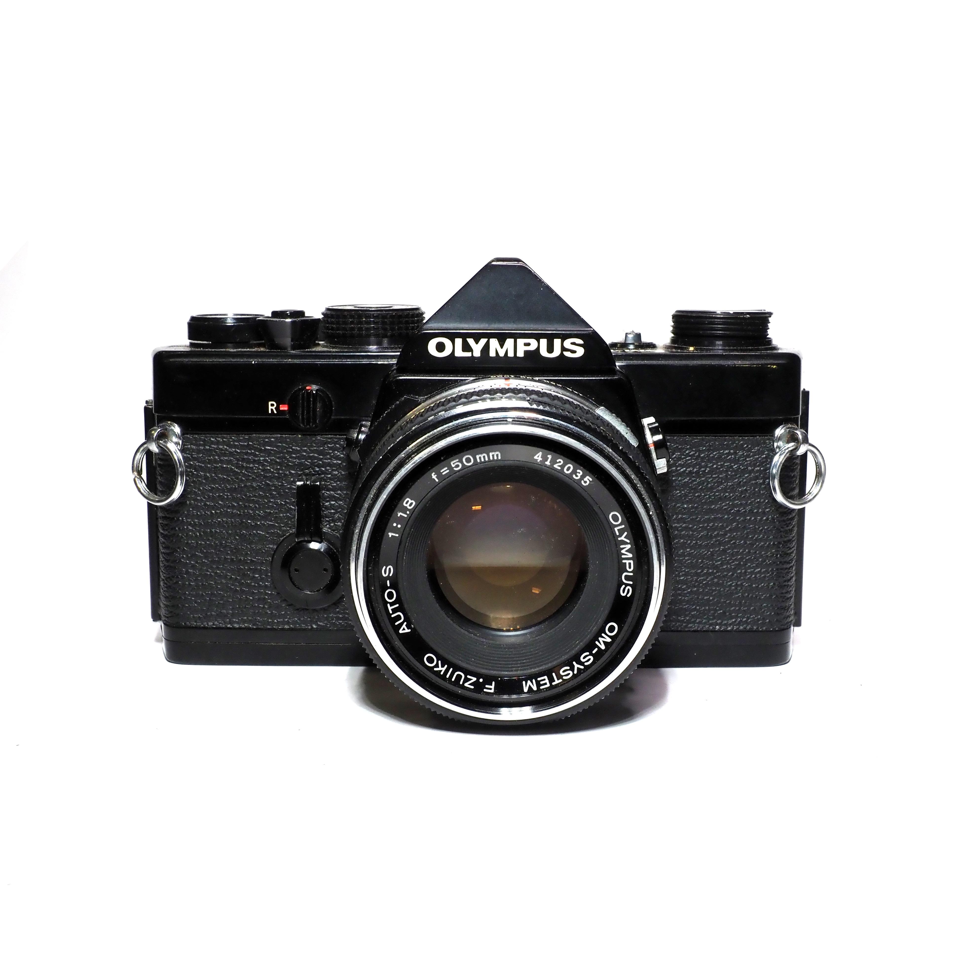 Olympus OM-1 inkl. F.Zuiko 50mm f/1,8 - BEGAGNAT