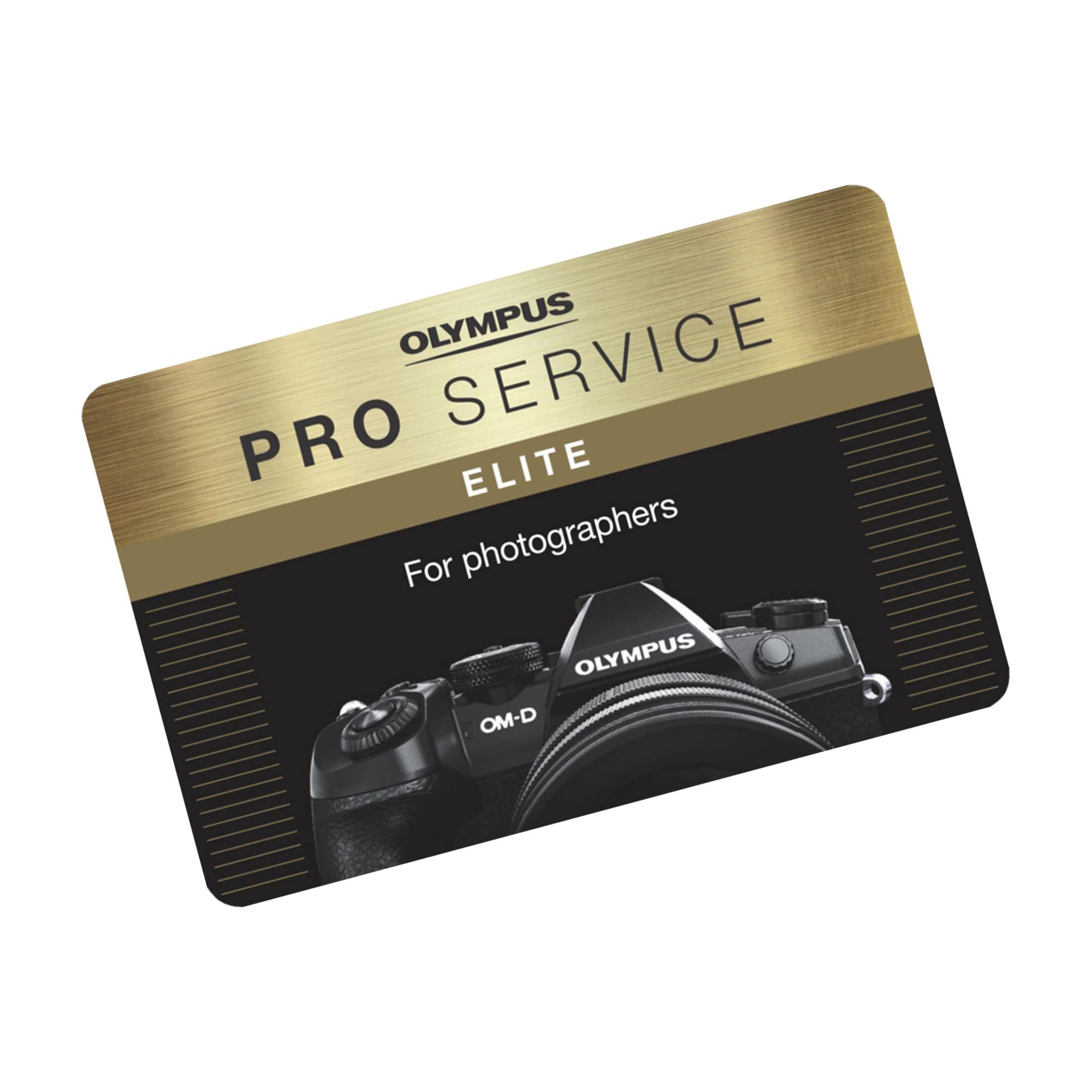 Olympus PRO Service Elite - 1 år