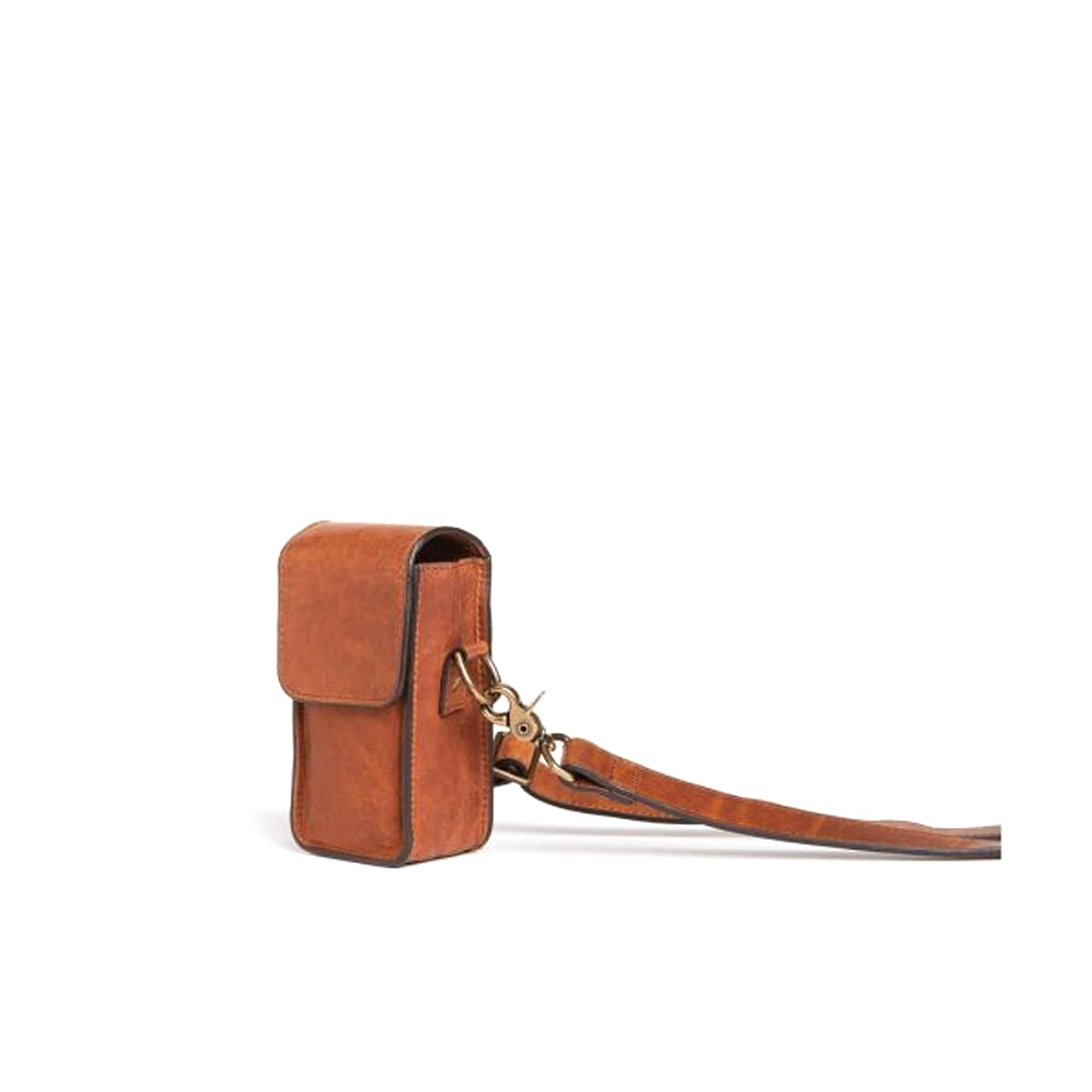 Ona The Lisbon Crossbody Cognac Leather