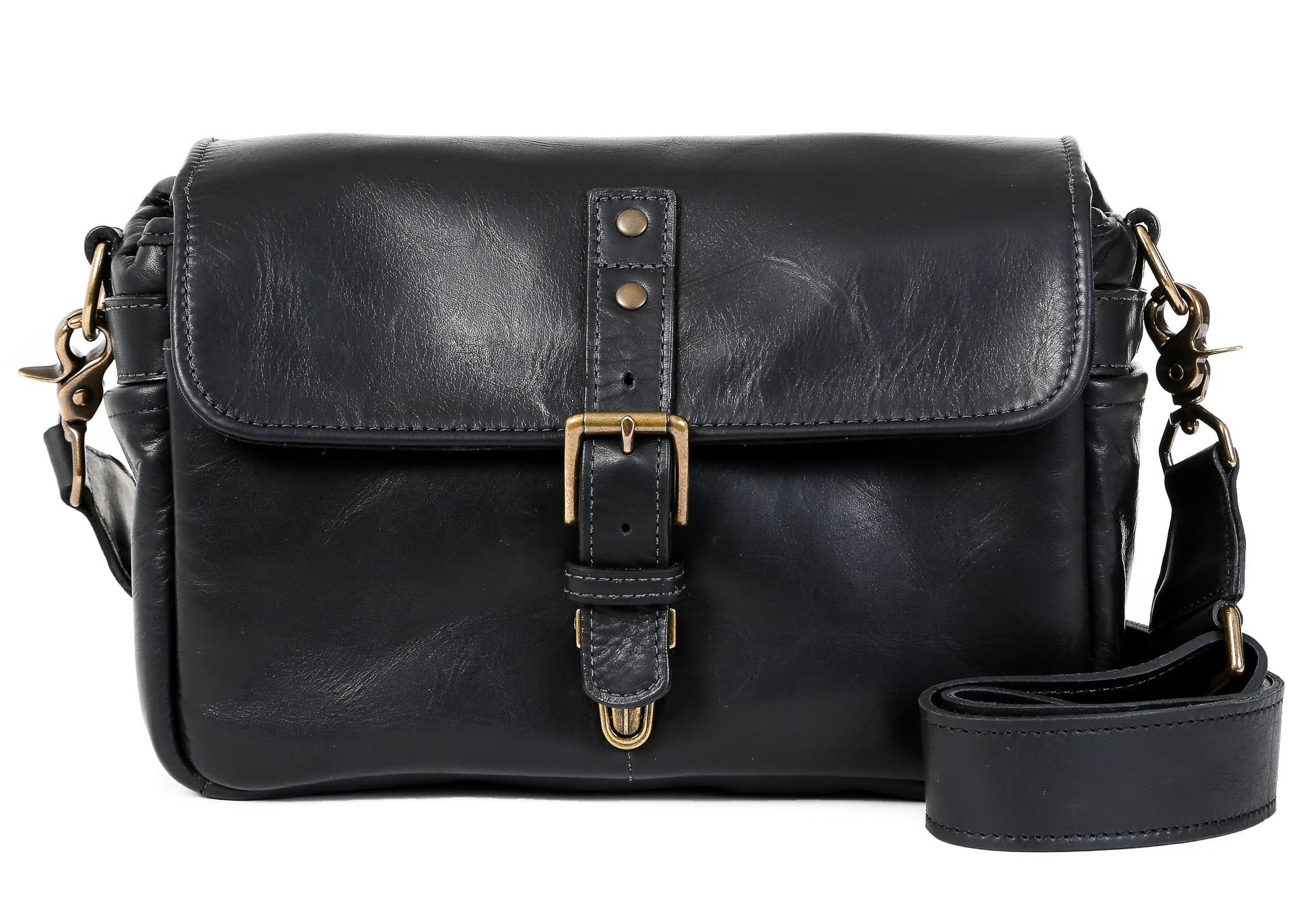 ONA Bags Bowery Black Leather