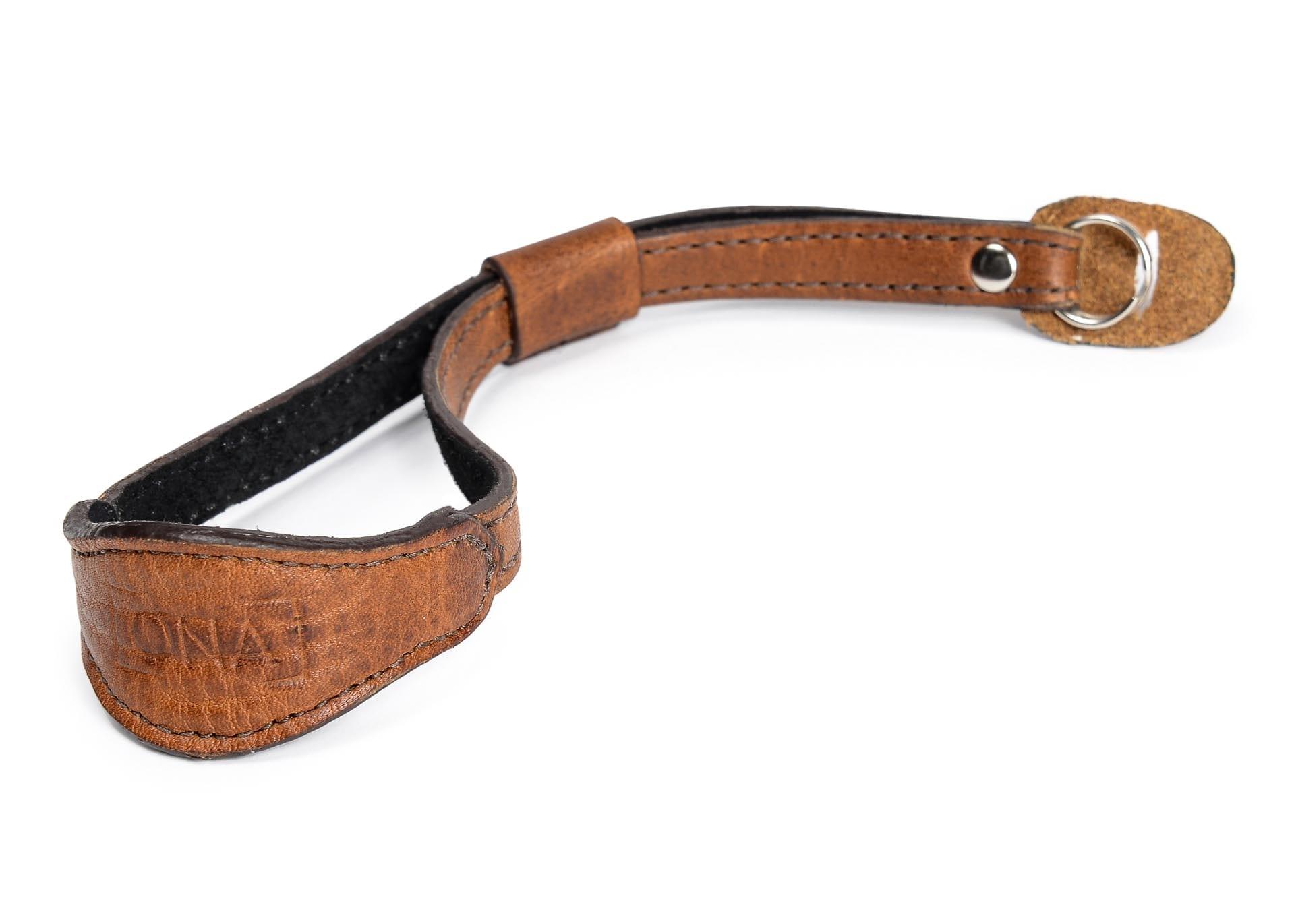 ONA The Kyoto Wrist Strap Cognac Leather