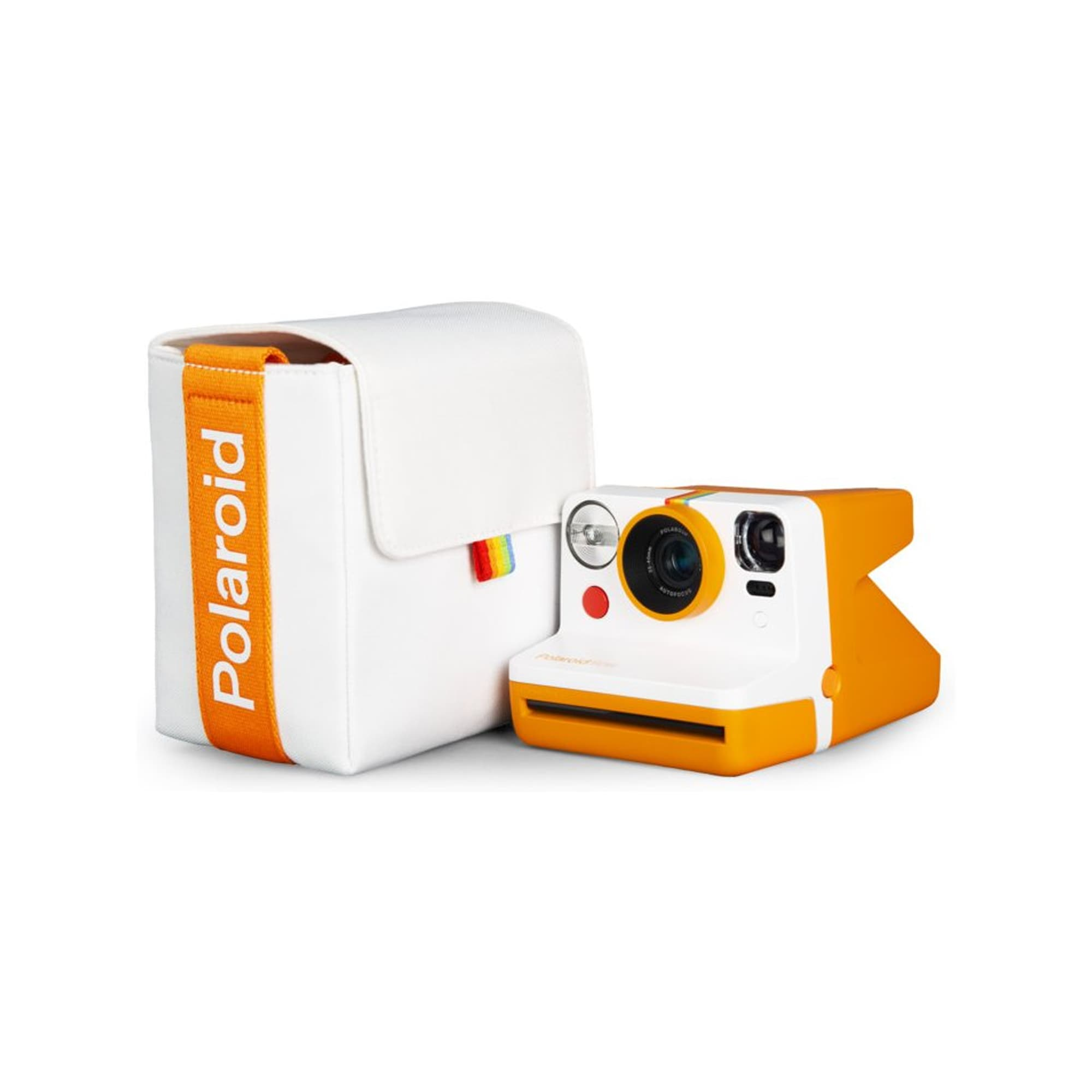 Polaroid Väska Till Now Vit & Orange